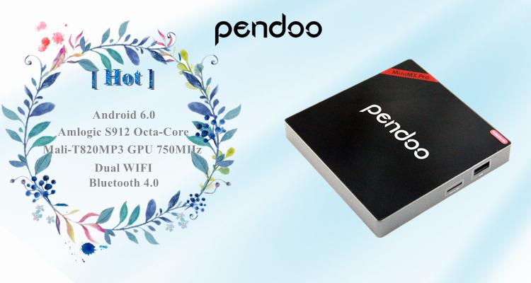Pendoo minimx pro s912 2g 16g android 6.0 tv box