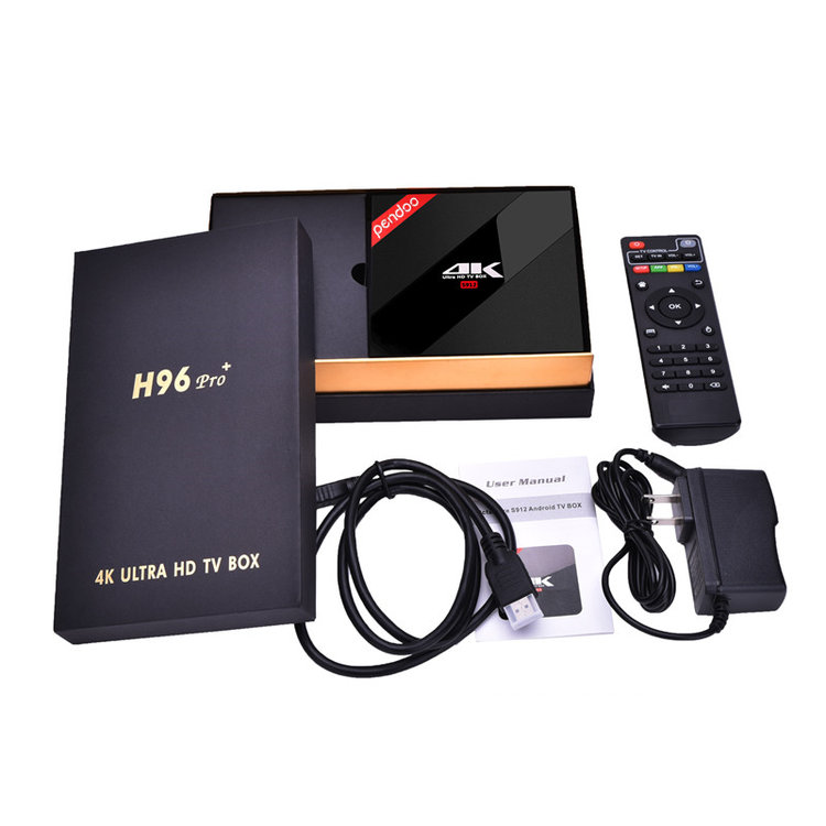 Pendoo h96 pro+ S912 3G 32G Android 6.0 tv box