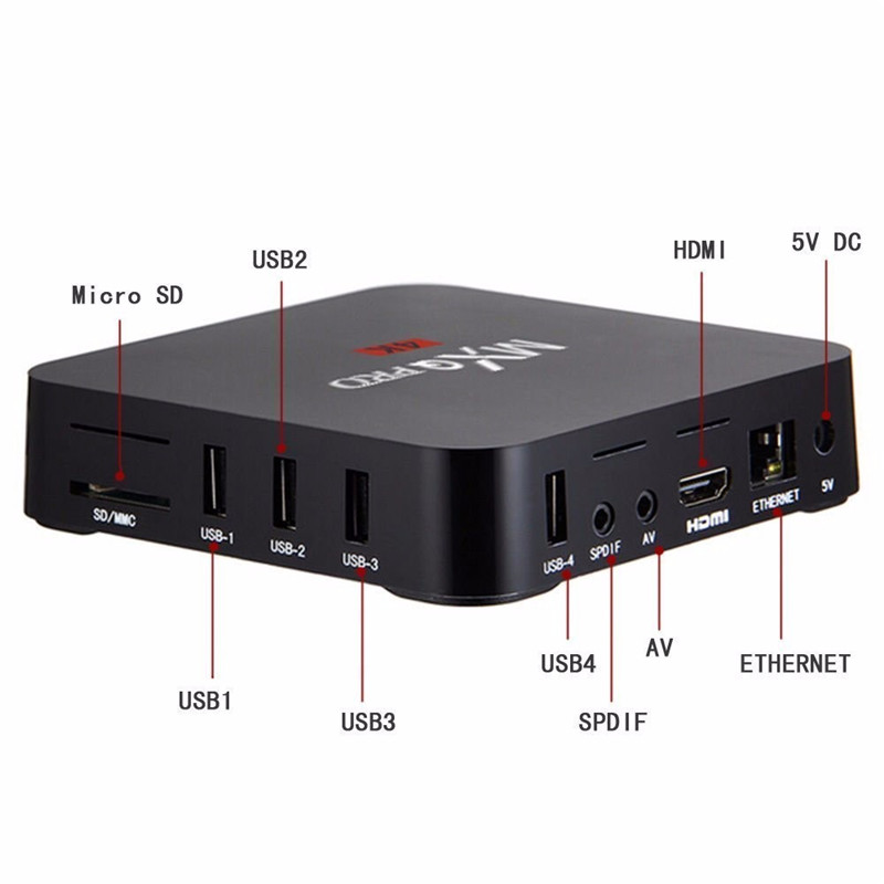 Pendoo MXQ PRO S905 1G 8G android5.1 TV box