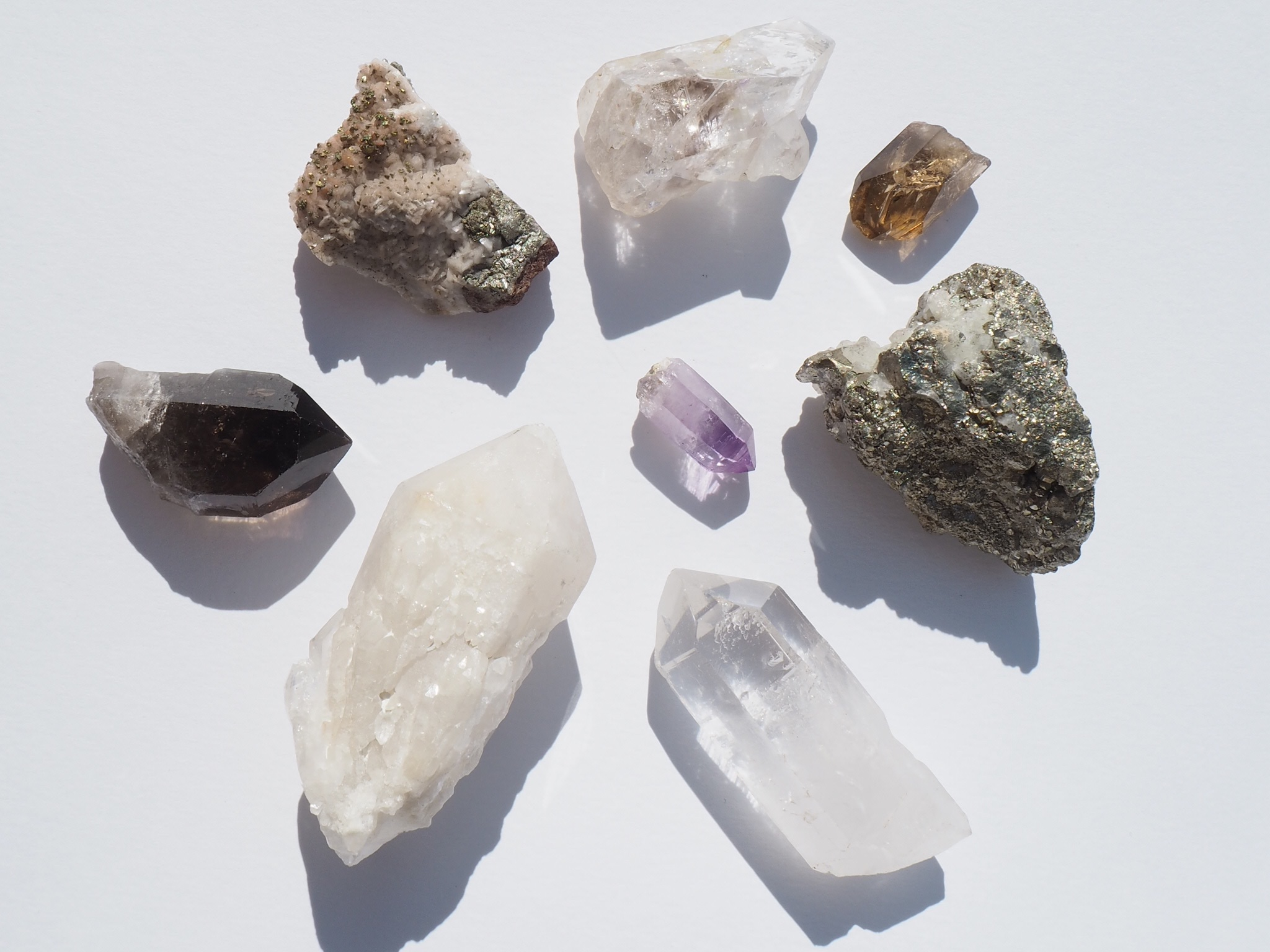 get your rocks out - A (free) five day crystal healing workshop