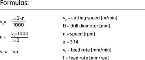 Når man freser må man også gange med antall tenner på fresen når man skal finne Vf