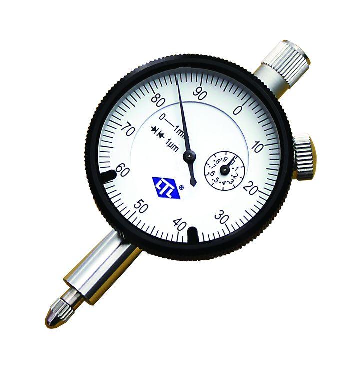 Måleurindikator med oppløsning på 1 mikrometer med total målemulighet på opptil 1mm.