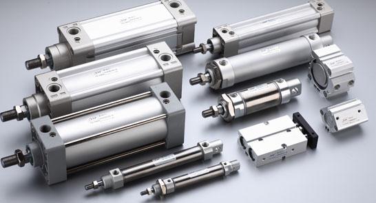 Pneumatiske sylindre (Pneumatic actuators)