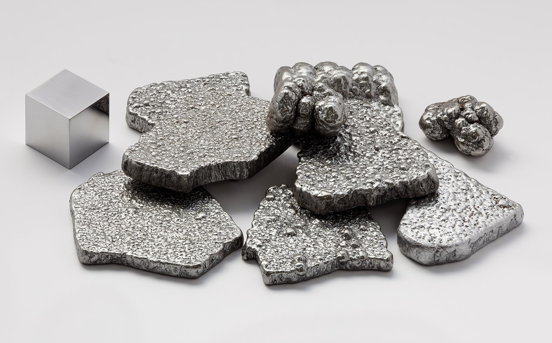 Ulike utgaver av metallisk jern