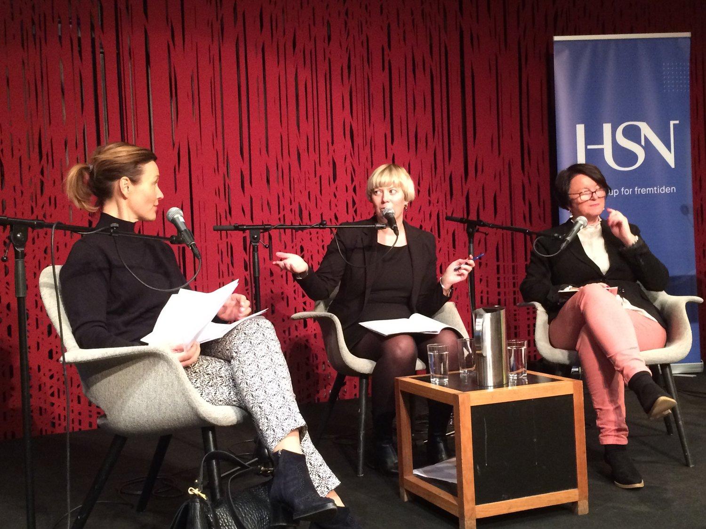 Kristin Danielsen, Heidi Stavrum og Lin Marie Holvik