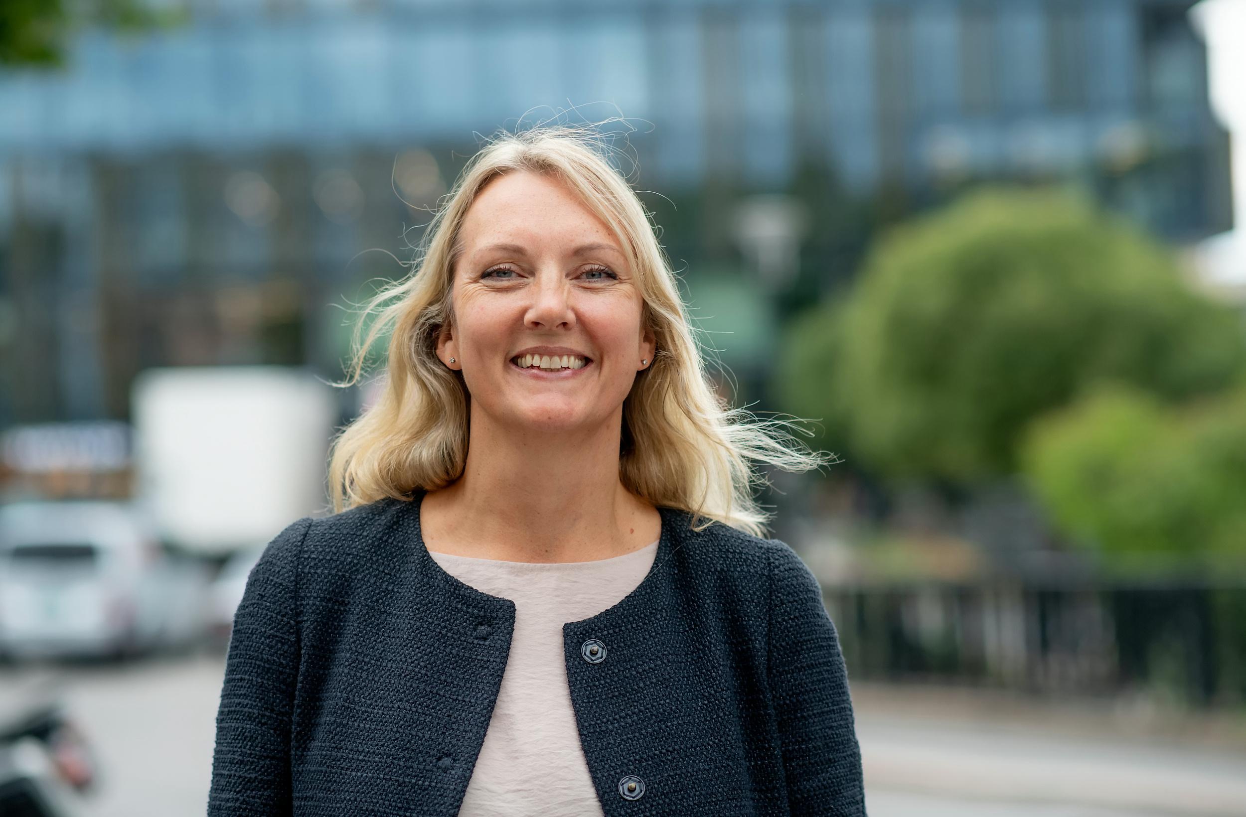 Ragnhild Tronstad, ny fagansvarlig for scenekunst i Kulturtanken. Foto: Lars Opstad
