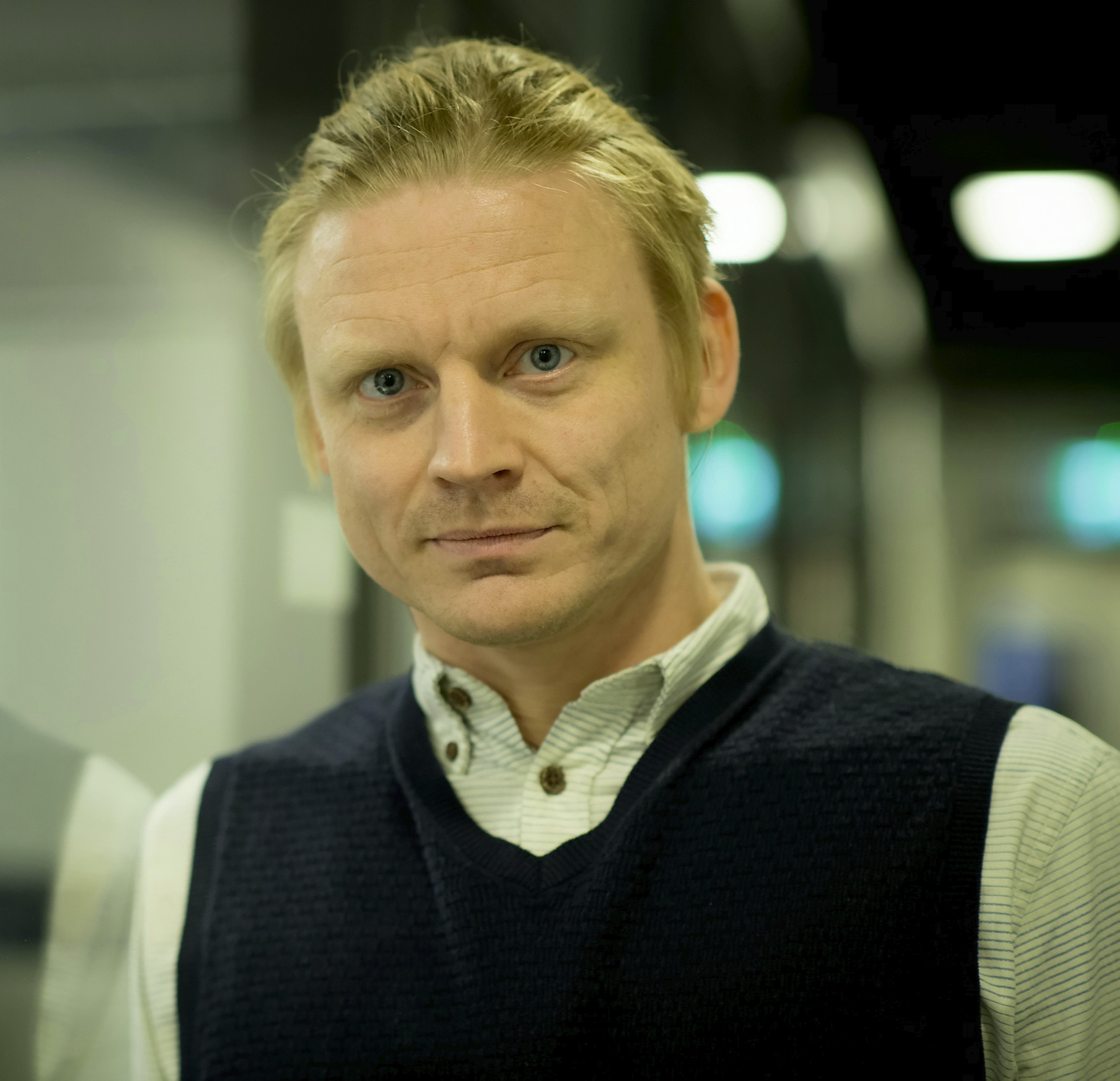 Kyrre Bjørkås, fagansvarlig for visuell kunst i Kulturtanken