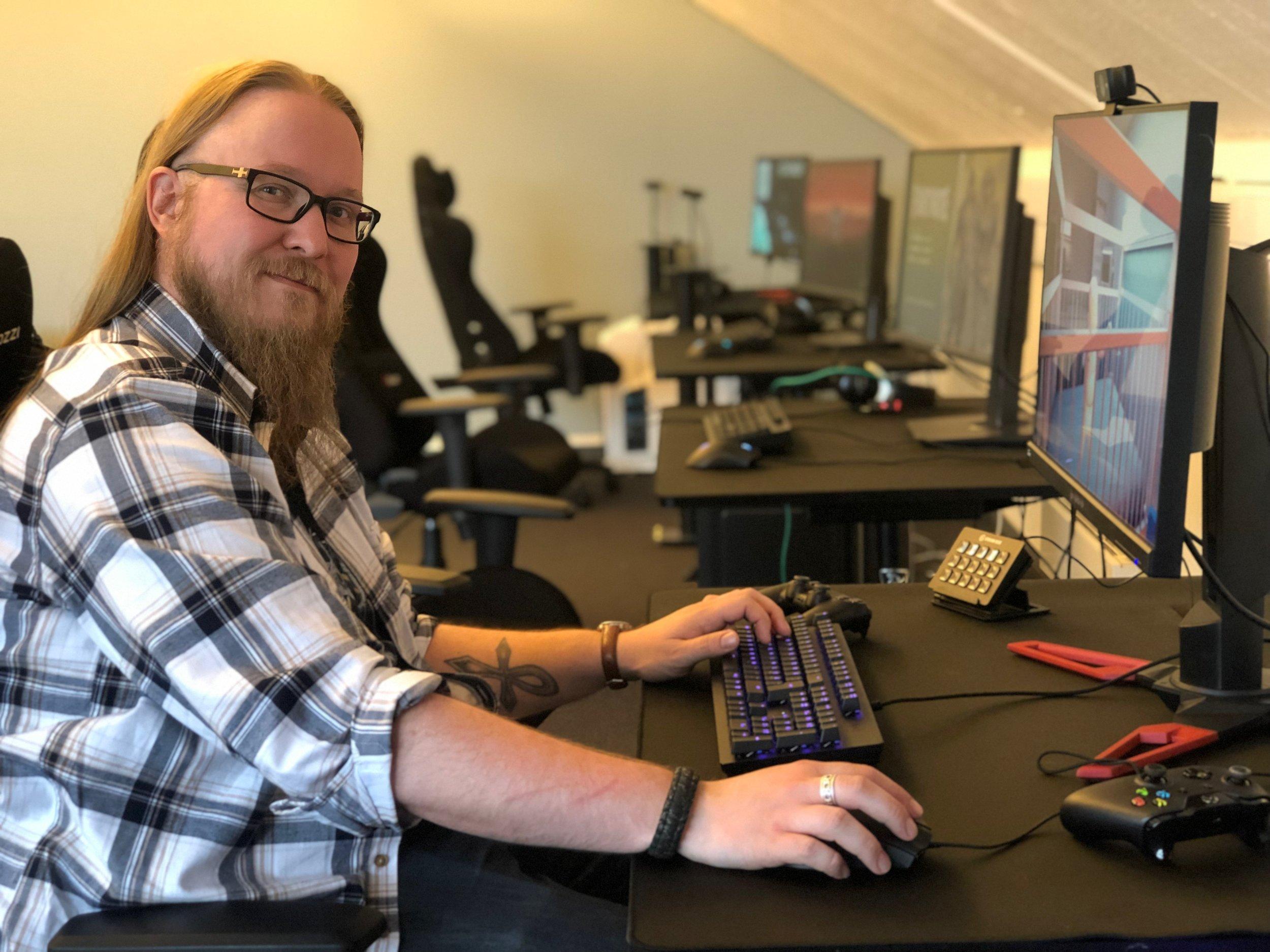 Thomas Grønvoll representerer Kulturtanken i Kulturdepartementets arbeidsgruppe for dataspillstrategi.