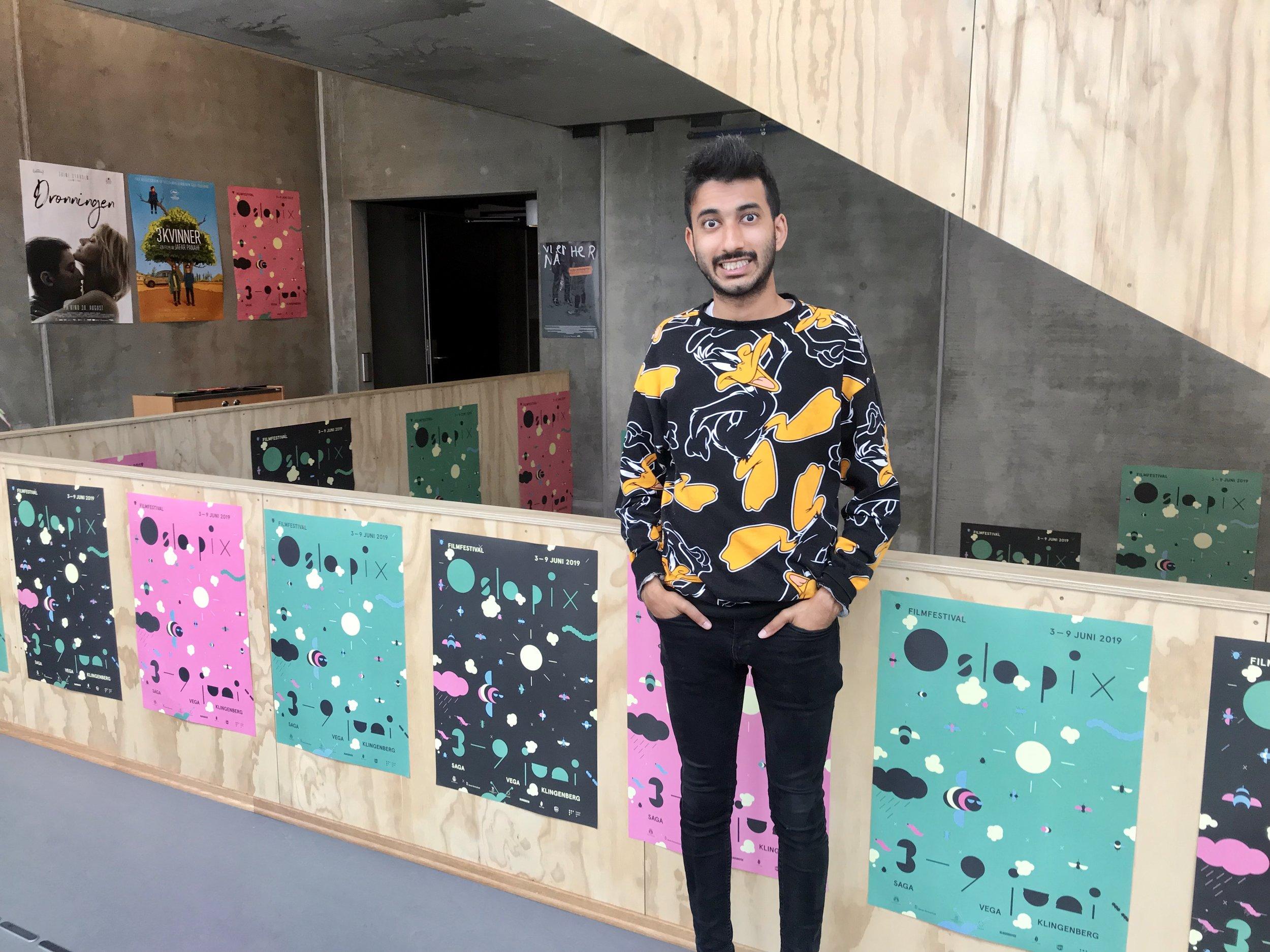 Den unge italienske filmskaperen Phaim Bhuiyan (23) besøker Oslo Pix Ung for å presentere sin debutfilm Bangla