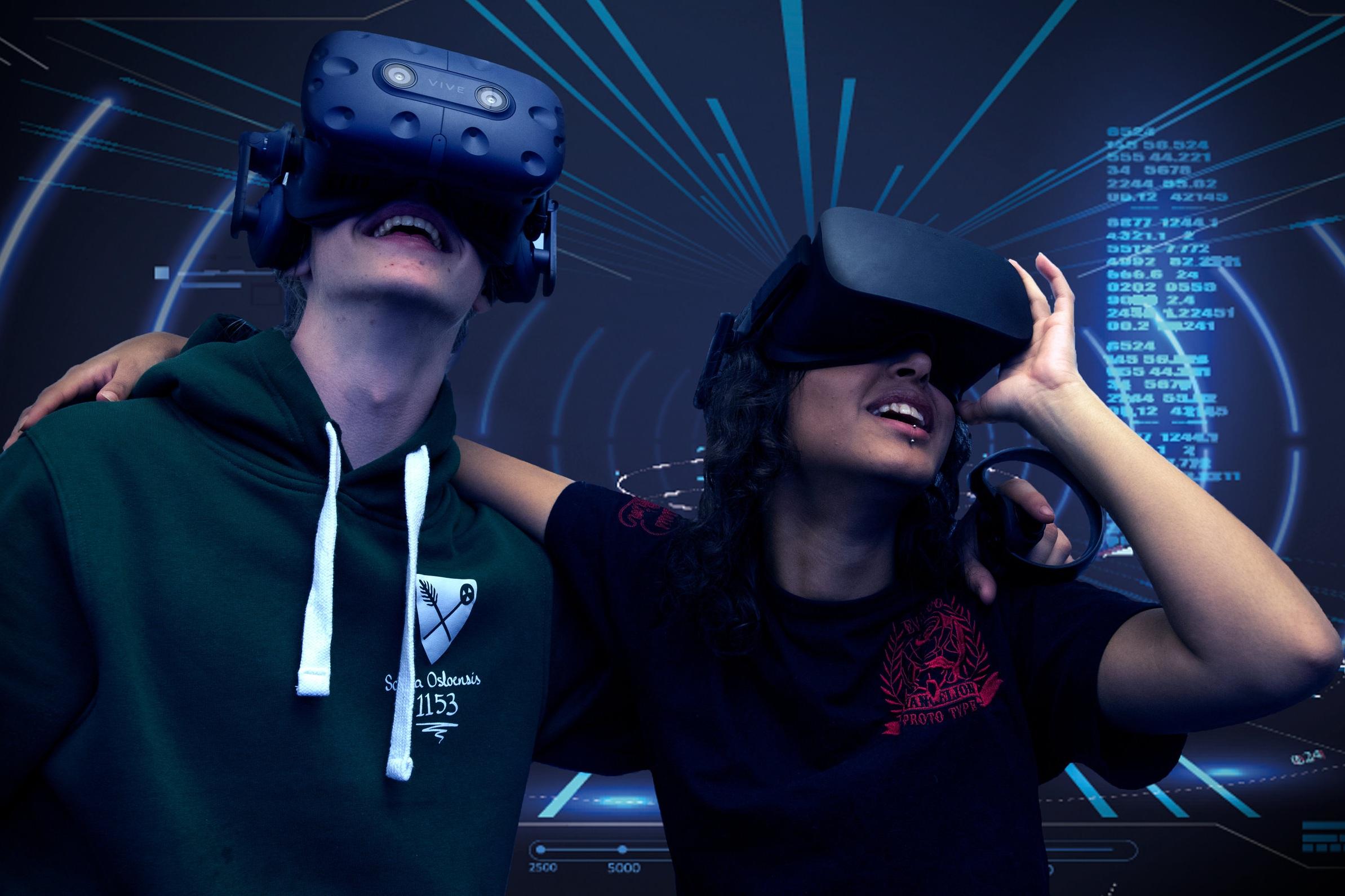 At dataspill er et medium som engasjerer barn og unge i hverdagen, er det liten tvil om – deriblant VR.