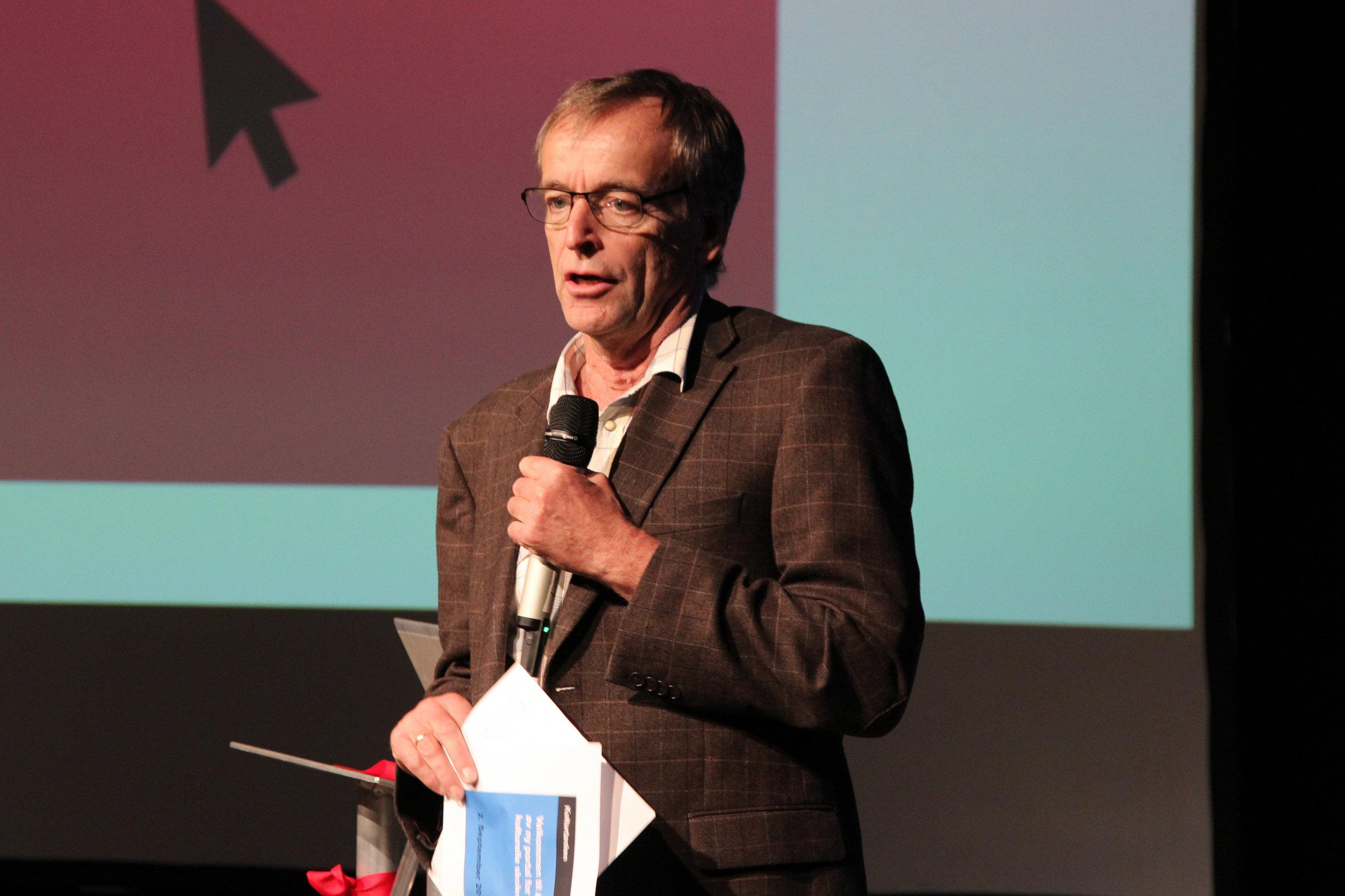 Leder for Norsk Skuespillerforbund og leder for kunstnernettverket, Knut Alfsen