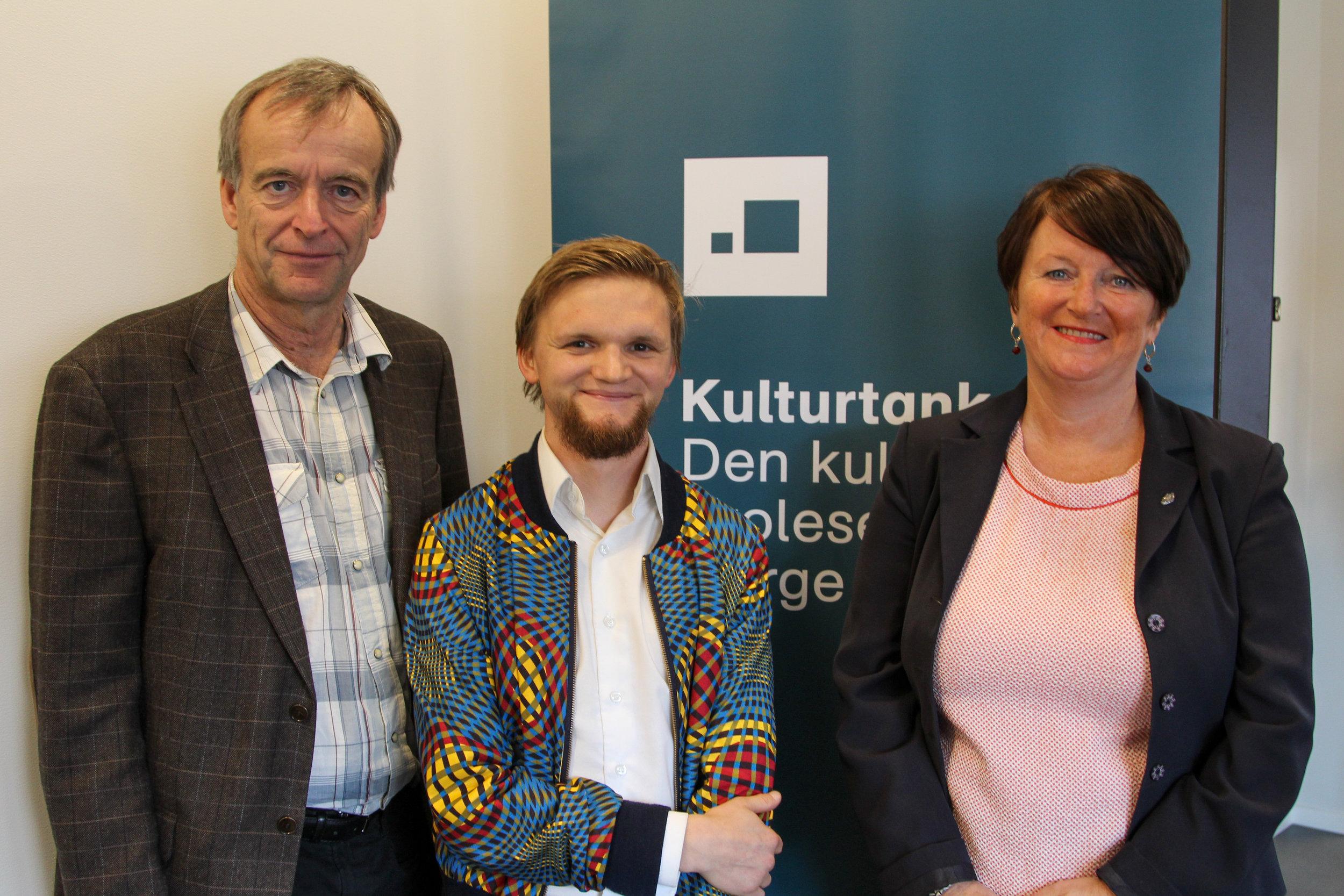 Knut Alfsen, Daniel Nørbech og Lin Marie Holvik