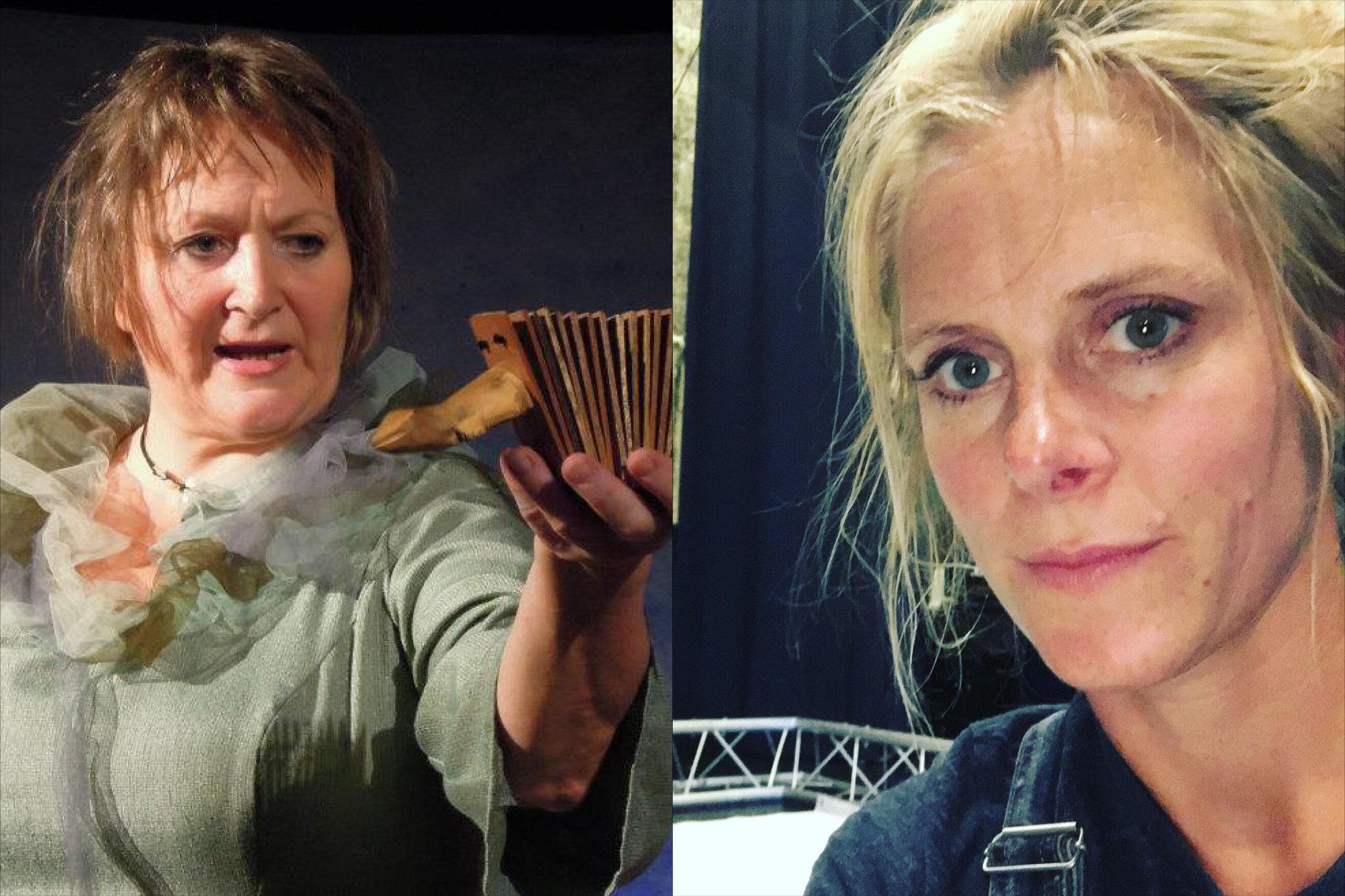 Karen Høie, produsent i Kulturproduksjoner og Thea Danielsen Fjørtoft i Fjørtoft kulturproduksjoner er begge veldig godt fornøyd med DKS-portalens brukervennlighet.