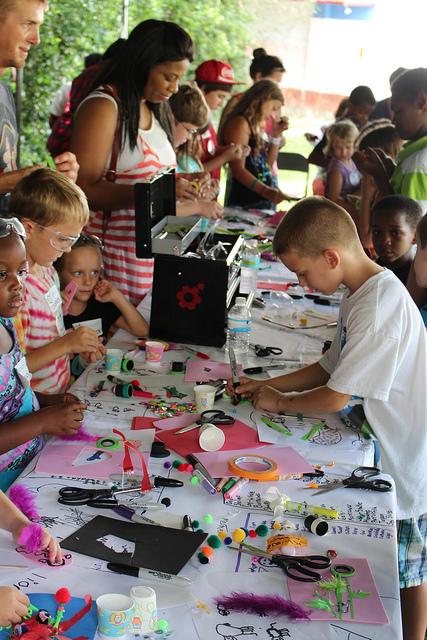 Encouraging kids to find their inner maker