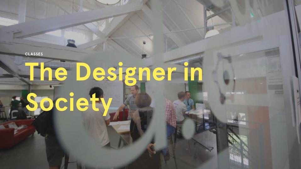The Designer in Society