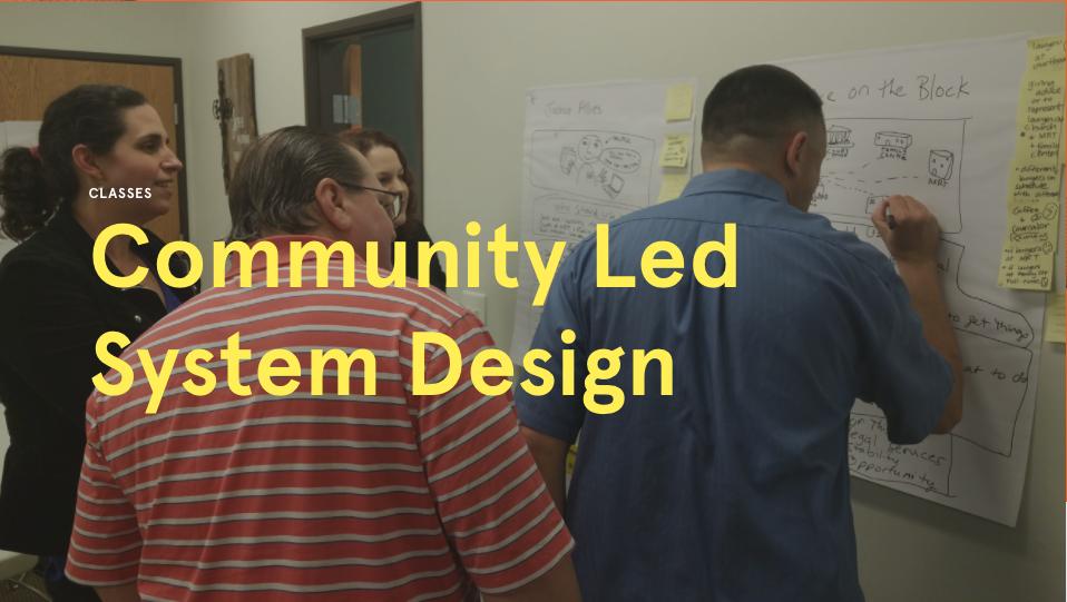 Community-Led System Design