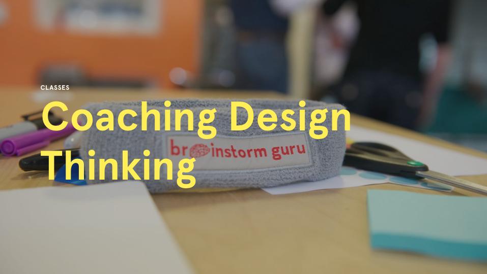 Coaching Design Thinking