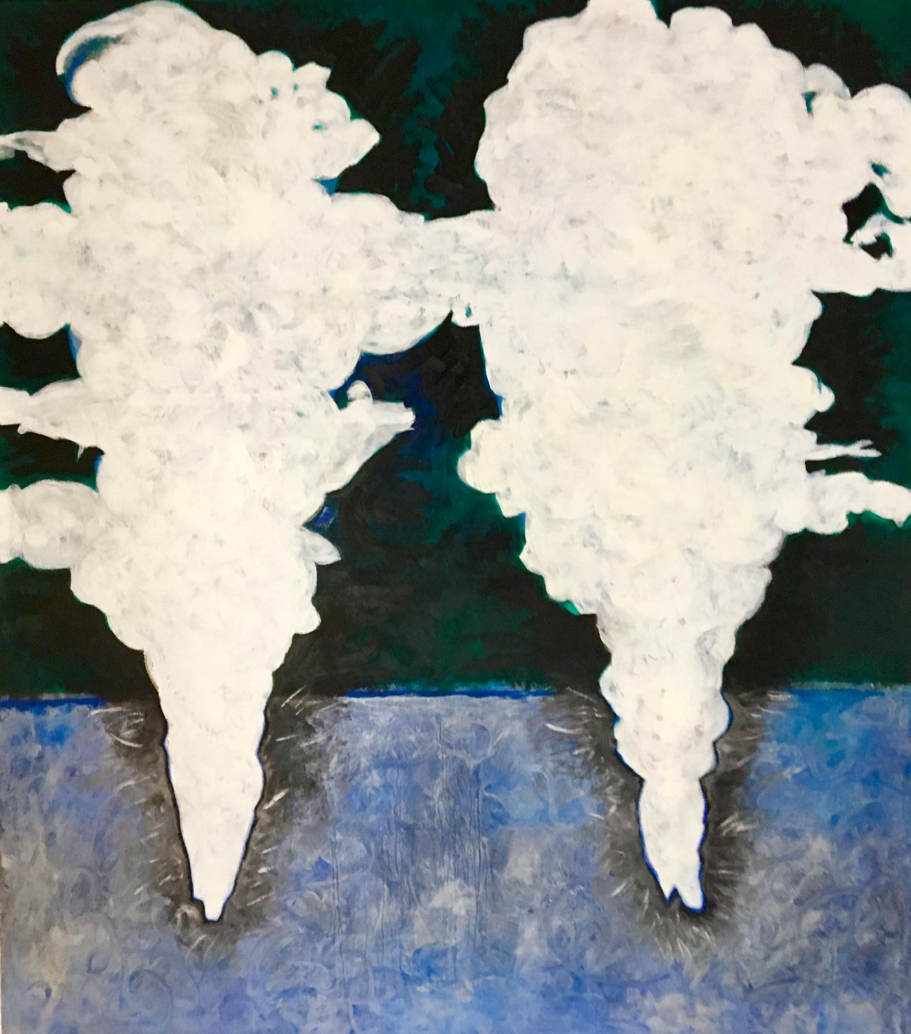 oil on canvas, 115 x105 cm