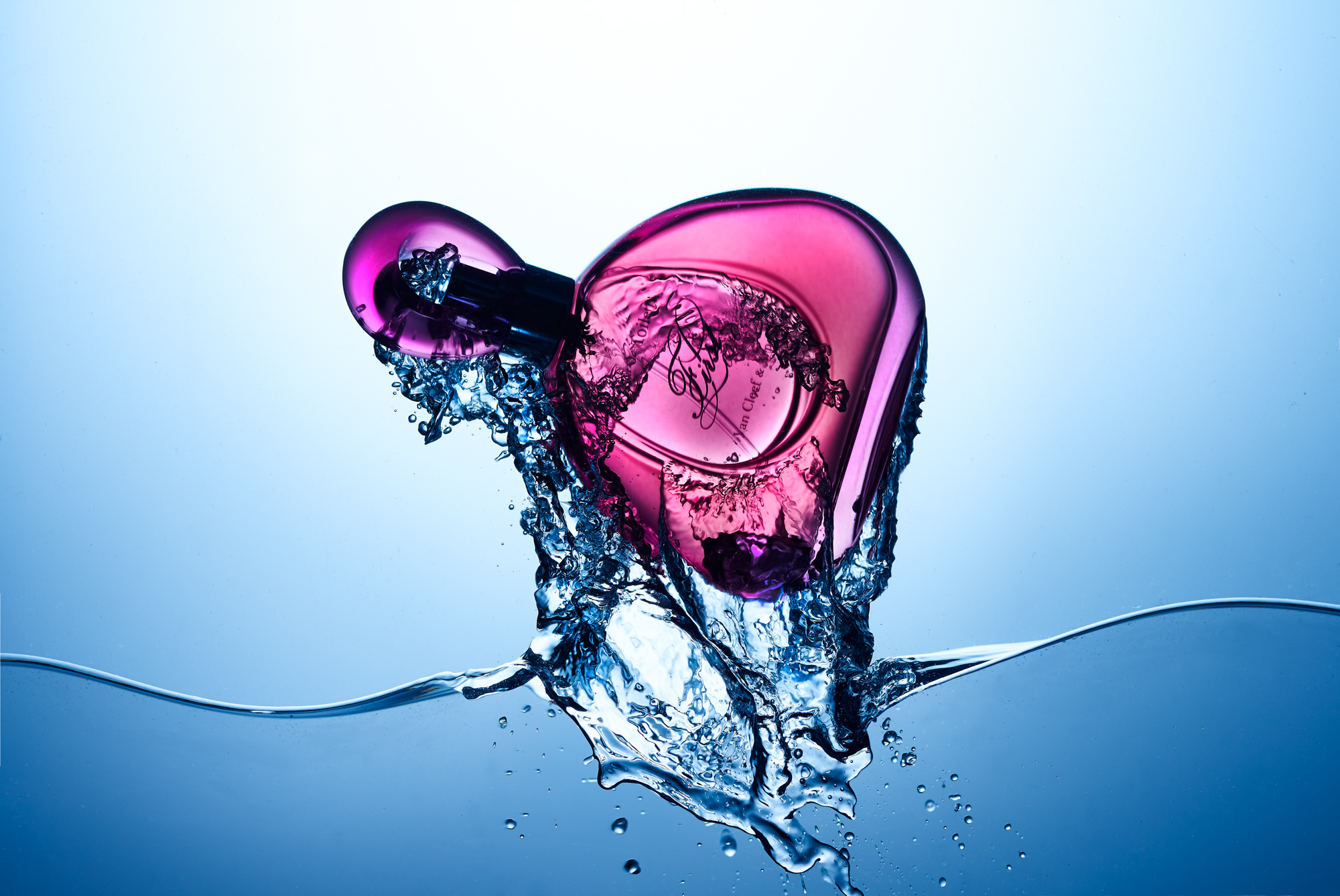 First perfume with water