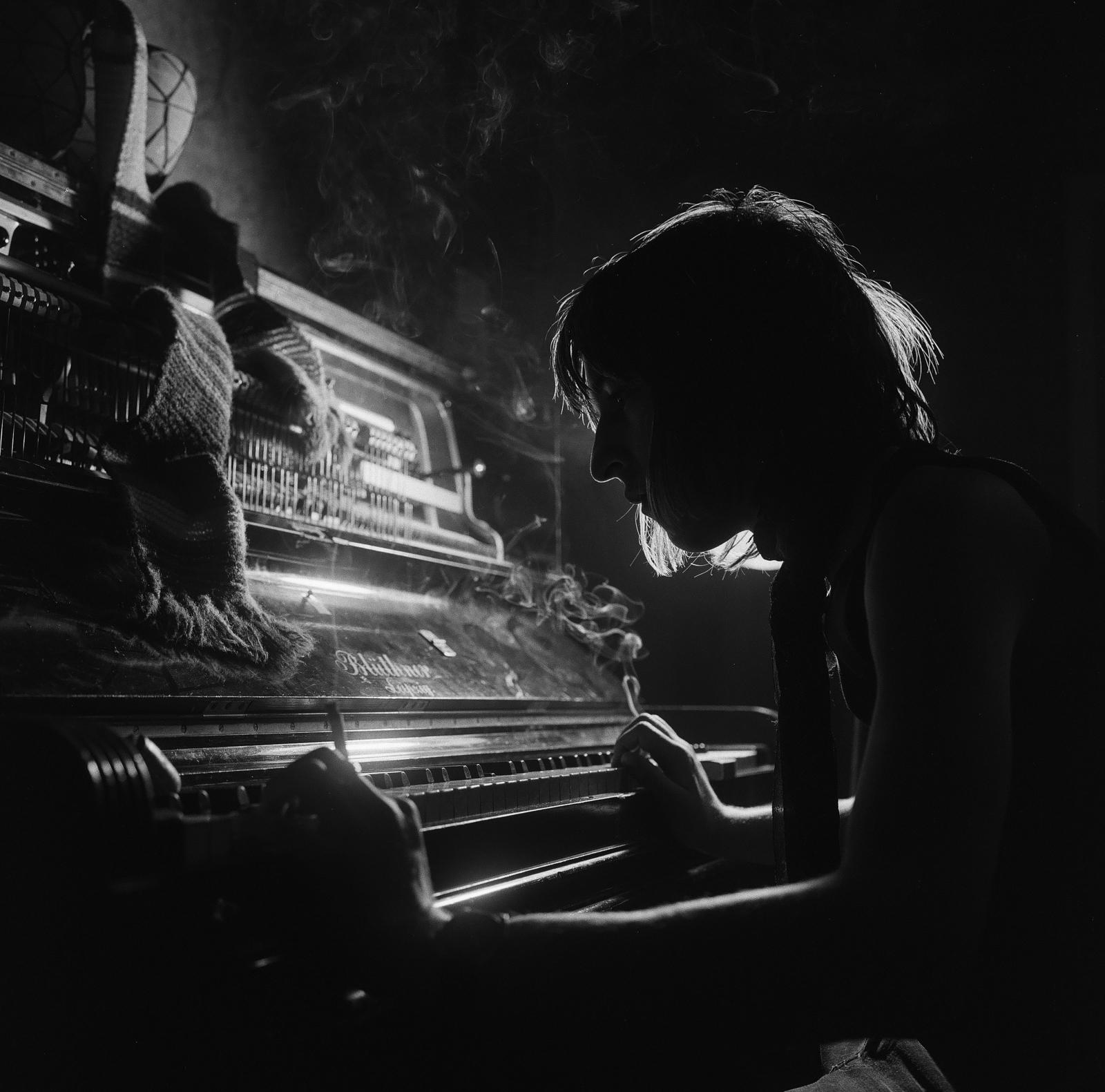 Daniel playing piano