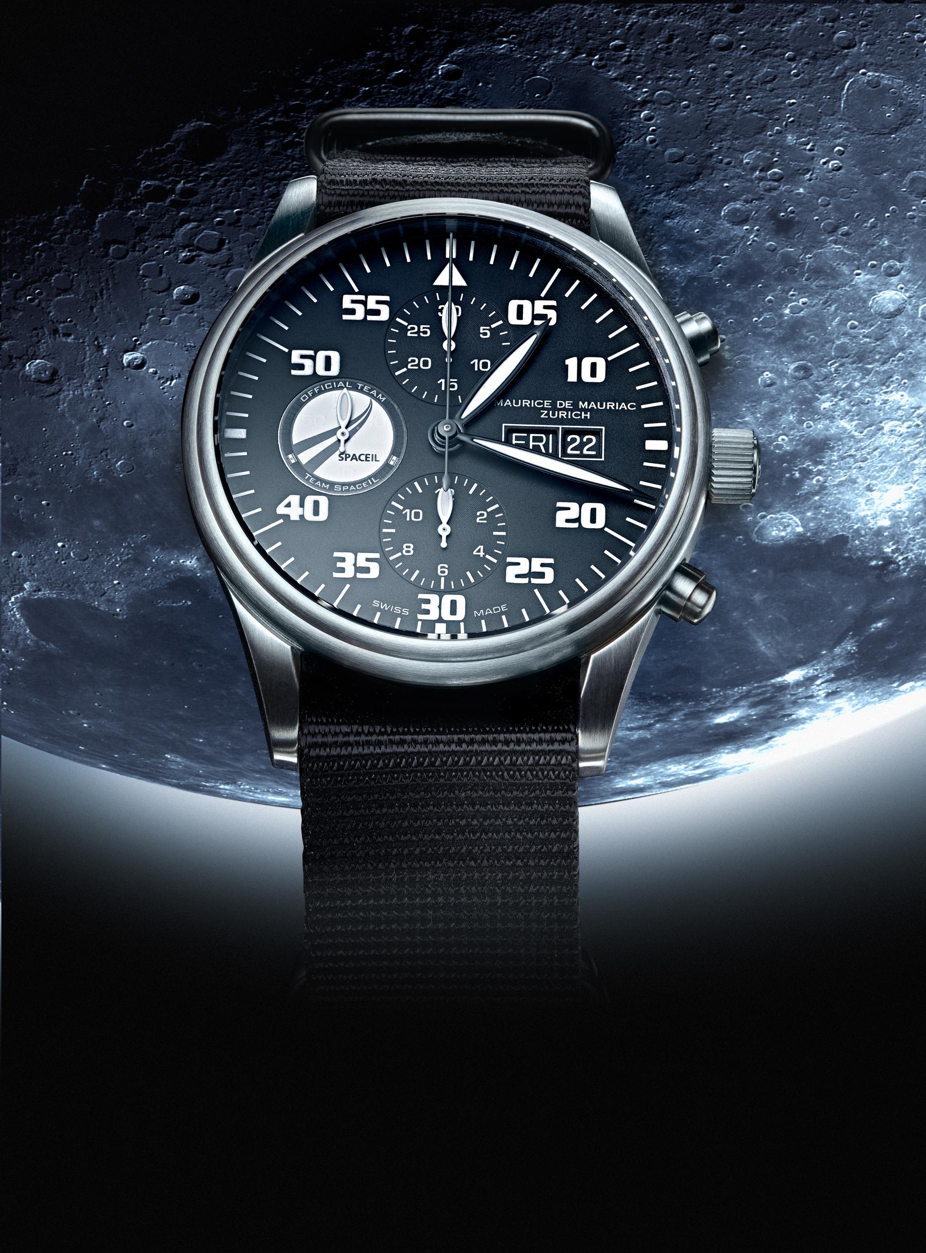 Moonwatch Maurice de Mauriac, Uhrenfotografie, Zürich, Schweiz