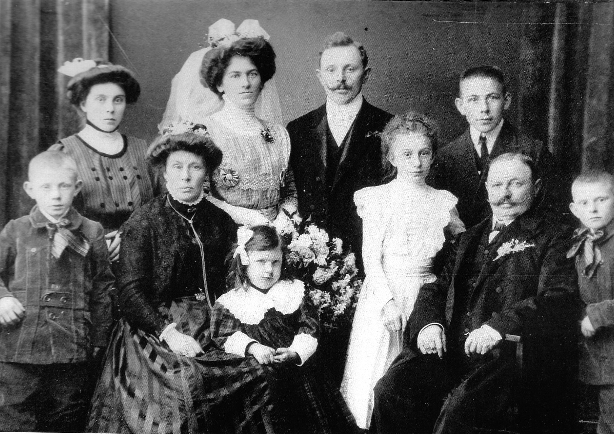 Meet My Ancestors - THE HAUGENSTEIN FAMILYMy Father's mother is the little girl Pia in the middle.My family endured so many tragedies … still their decendants continue life for the future.