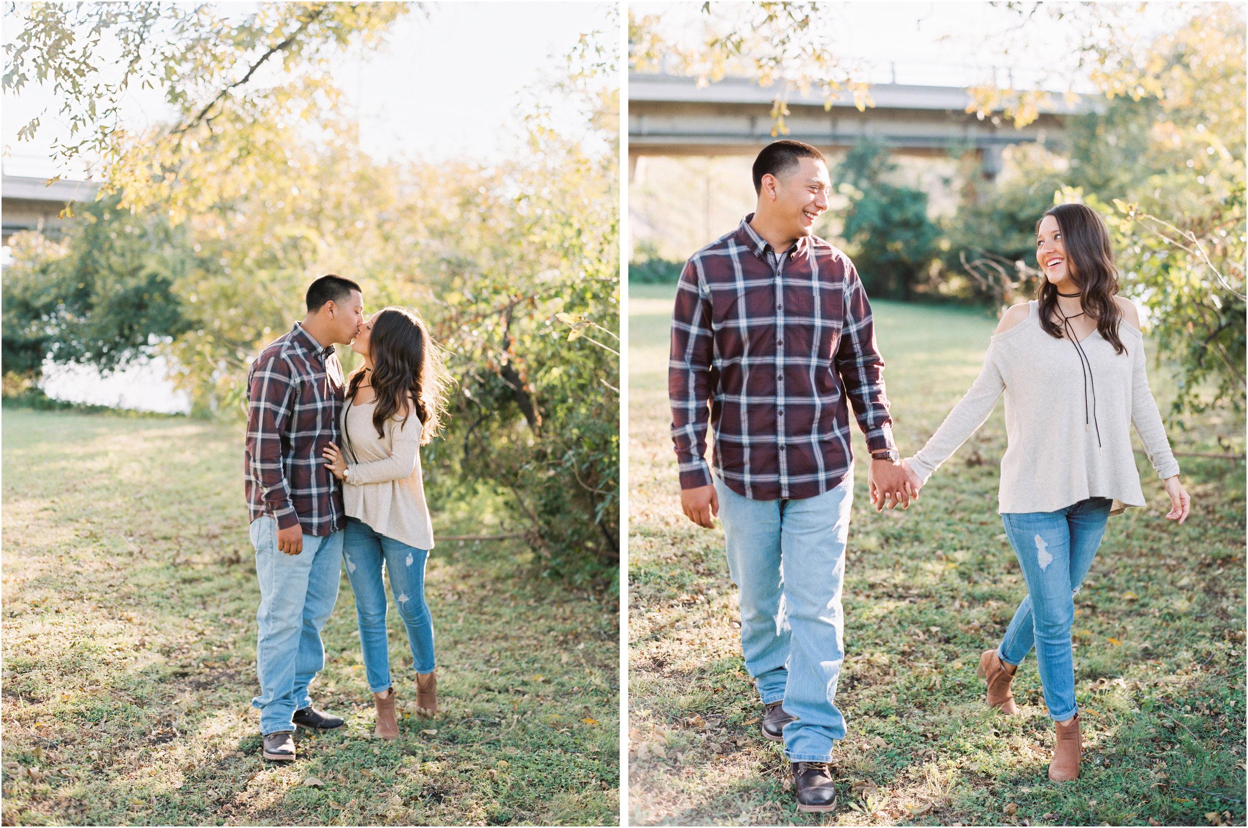 Bo & Belinda | Britni Dean Photography | Texas Film Engagement Photographer