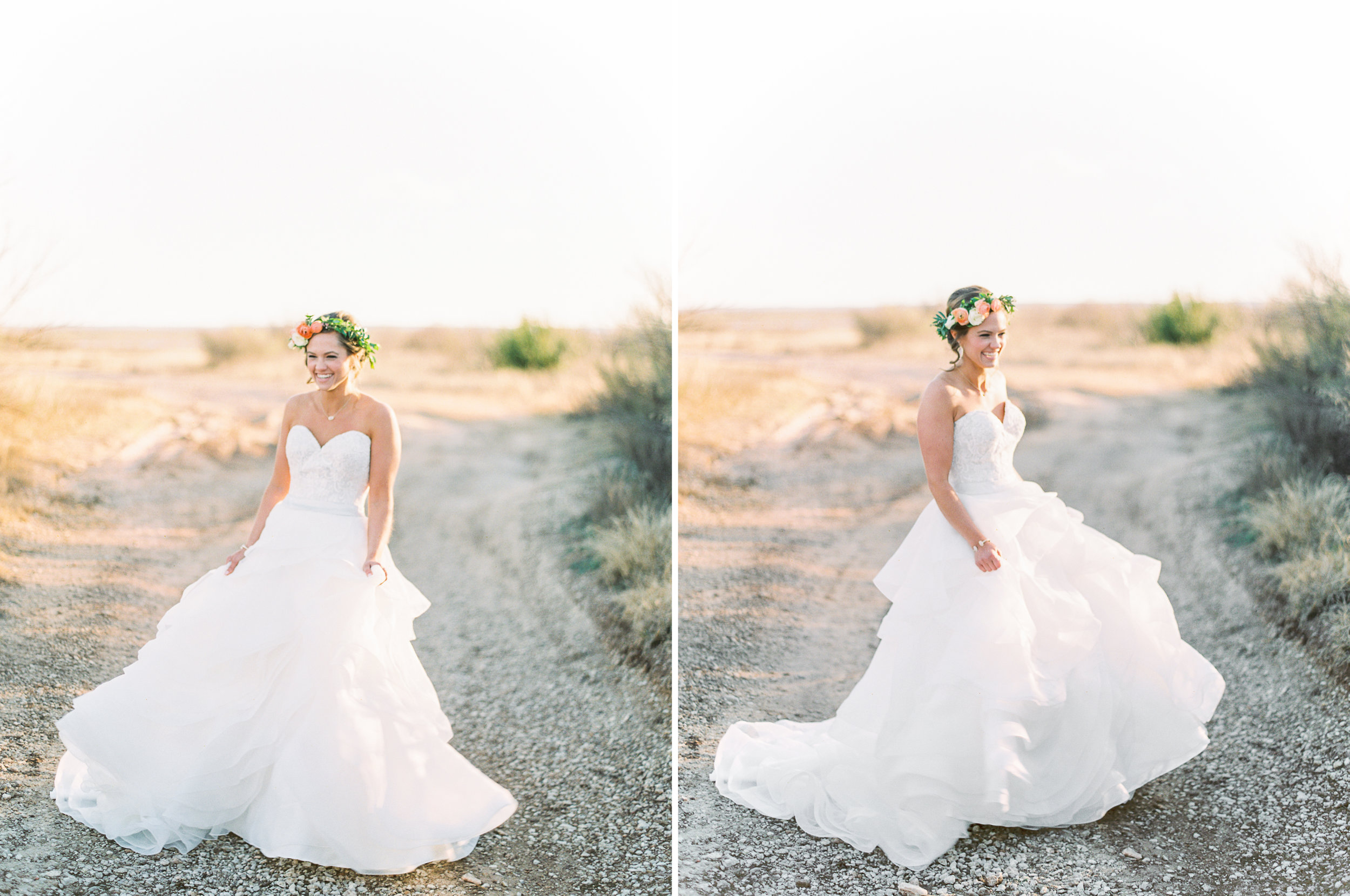 Chelsea's Spring Bridal Session | Spring Wedding Inspiration | Texas Film Wedding Photographer | britnidean.com