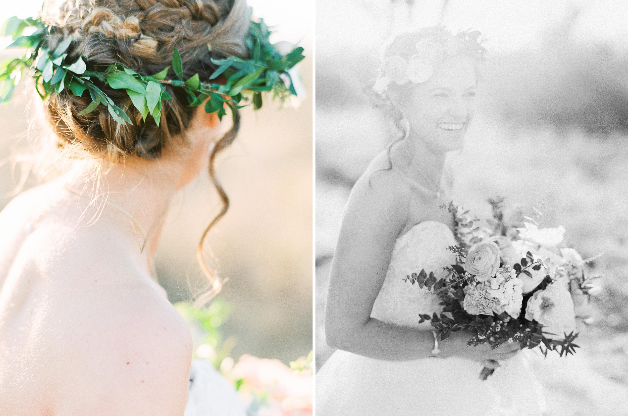 Chelsea's Spring Bridal Session | Spring Wedding Inspiration | Texas Film Wedding Photographer | britnidean.com