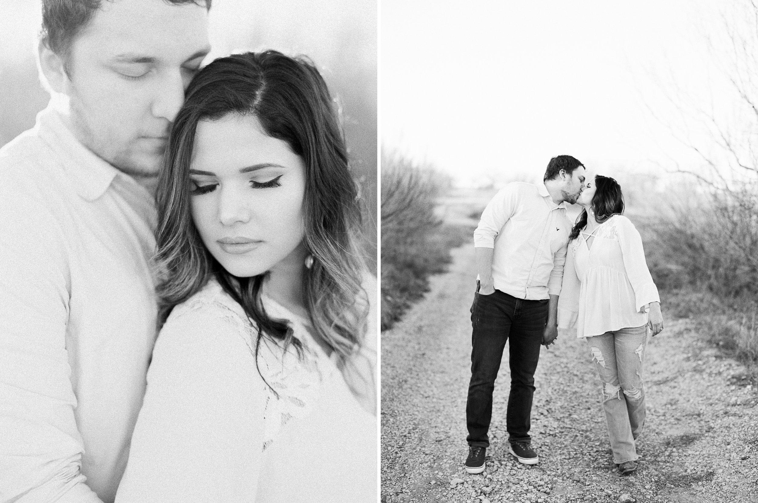 Daven & Meg | West Texas Engagement Session | Texas Wedding Photographer | Britni Dean Photography | britnidean.com