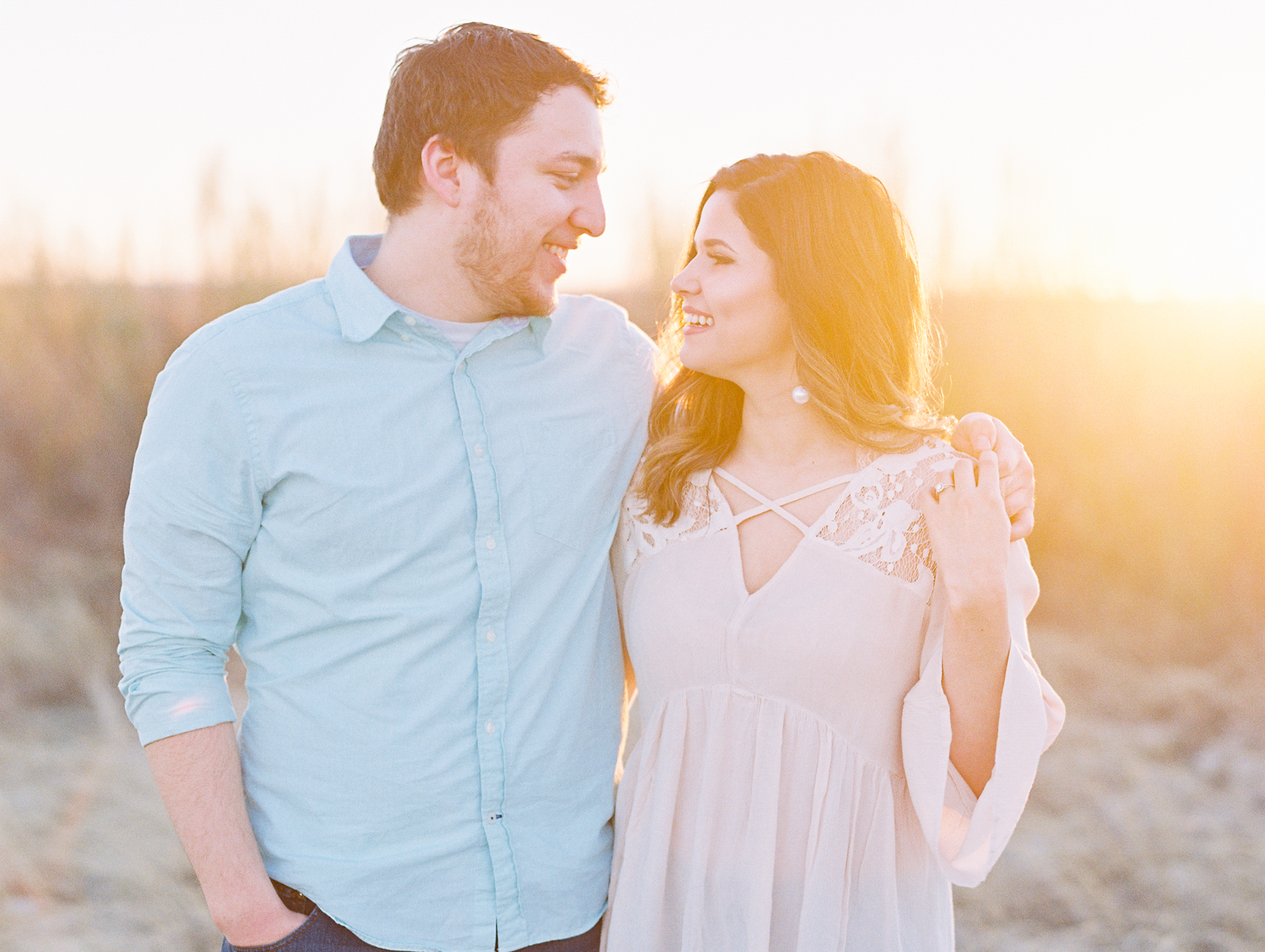 Daven & Meg | West Texas Engagement Session | Texas Wedding Photographer | Britni Dean Photography | britnidean.com