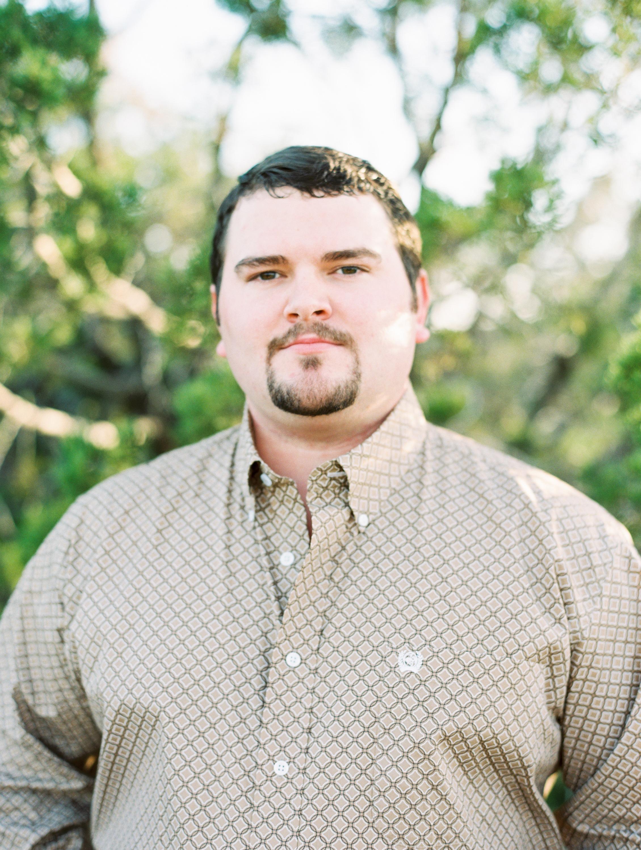 Kyle & Jamison   West Texas Engagement Session   Film Engagement Photos   britnidean.com