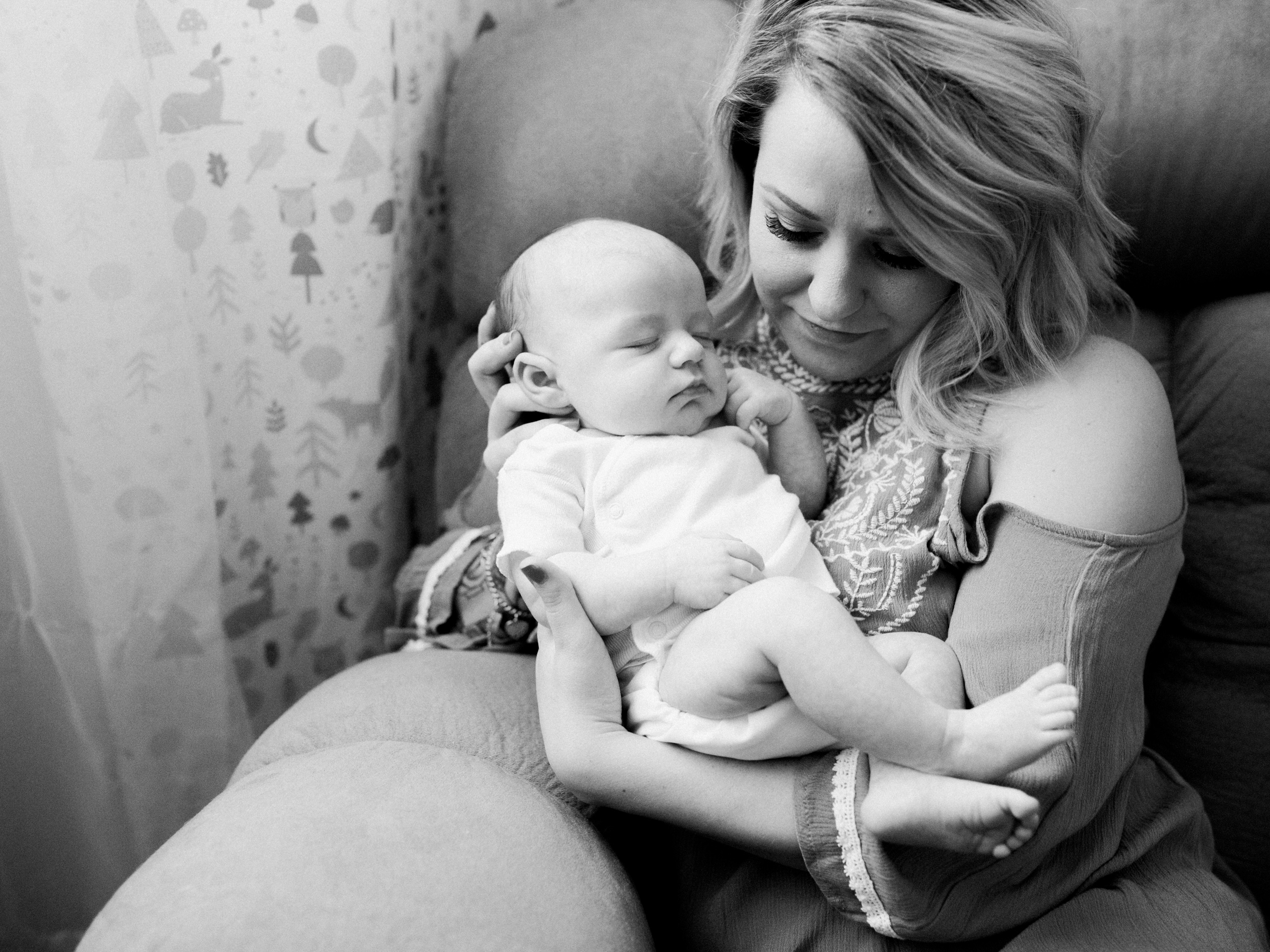 Jameson Boone   Newborn Lifestyle Session   Texas Portrait Photographer   Cute Baby Boy Nursery   Newborn Photos   Britni Dean Photography   britnidean.com