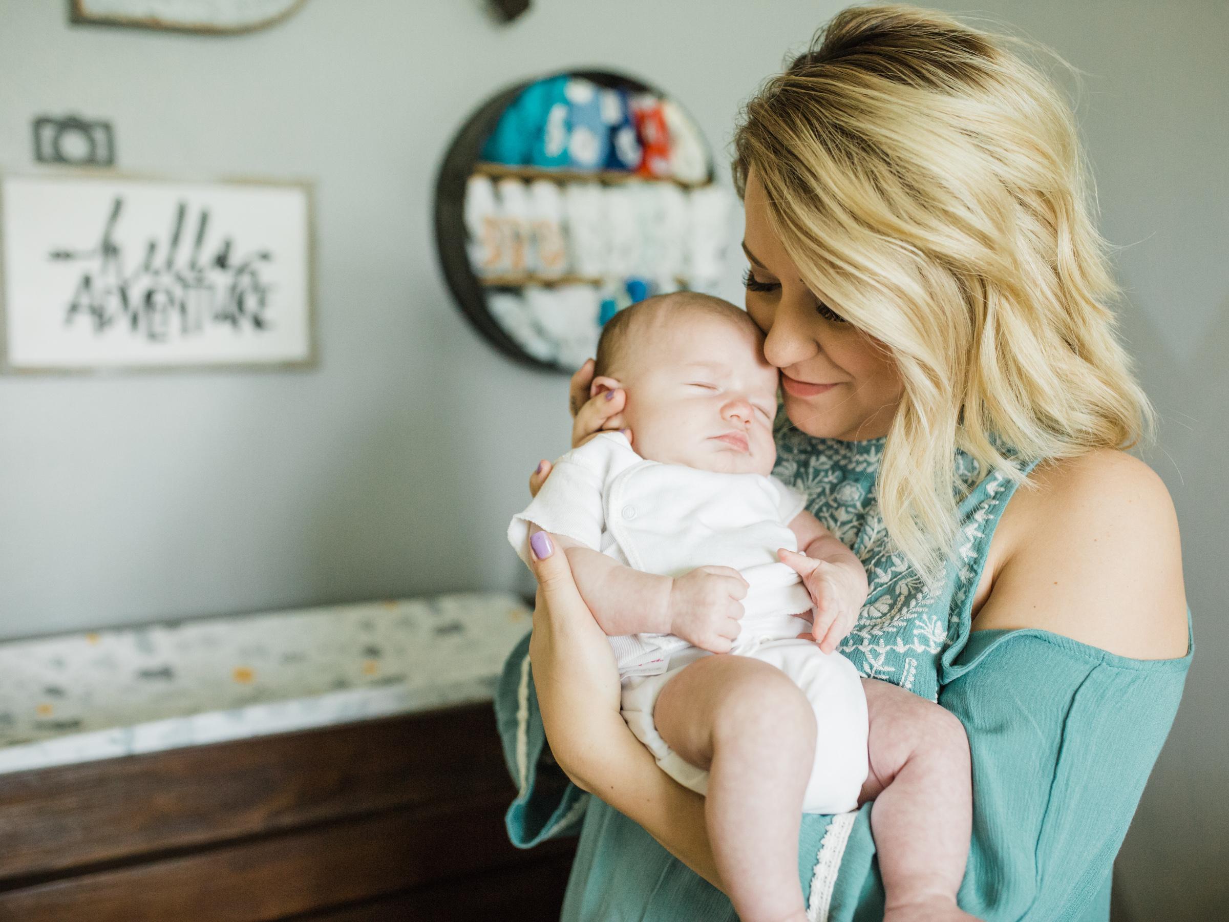 Jameson Boone | Newborn Lifestyle Session | Texas Portrait Photographer | Cute Baby Boy Nursery | Newborn Photos | Britni Dean Photography | britnidean.com