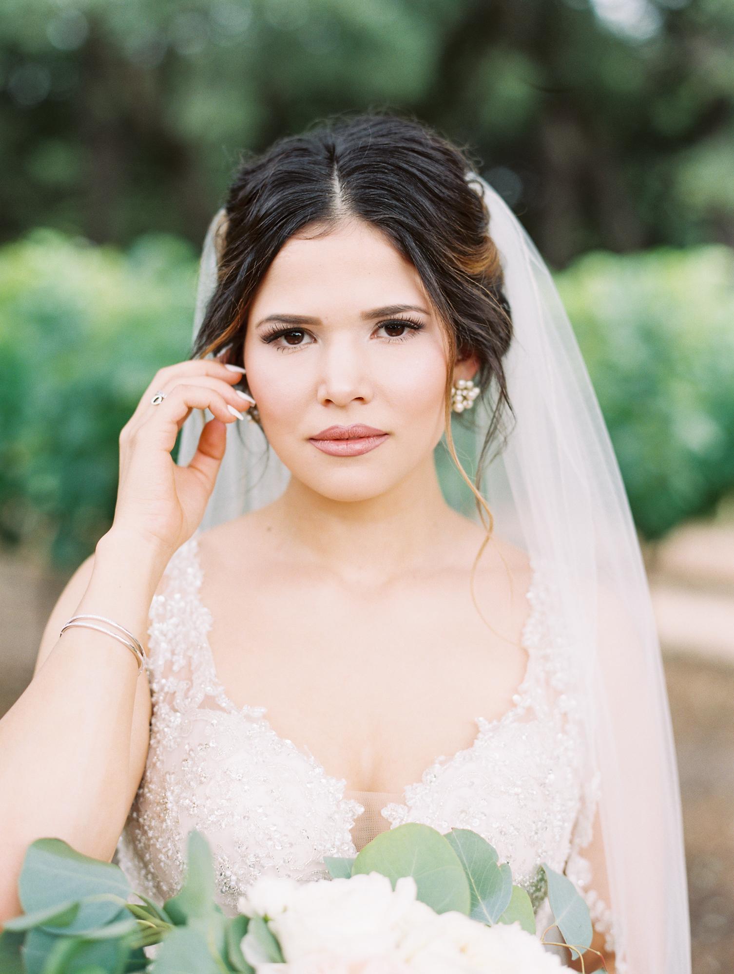 Elegant Spring Vineyard Wedding | Film Wedding Photographer | Austin Wedding Photographer | Classic Bridal Beauty | Britni Dean Photography // britnidean.com