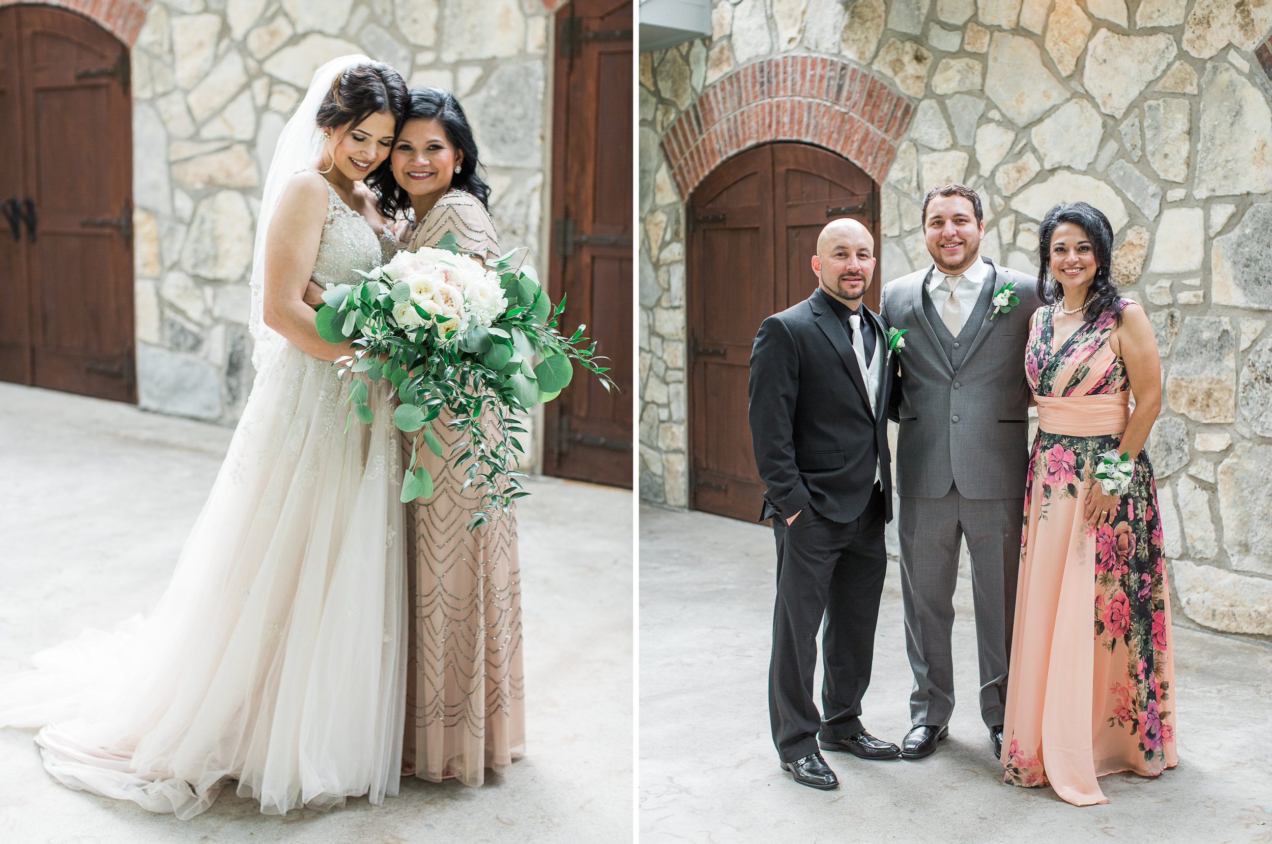 Elegant Spring Vineyard Wedding | Film Wedding Photographer | Austin Wedding Photographer | Sweet Wedding Day Moments with Parents | Britni Dean Photography // britnidean.com