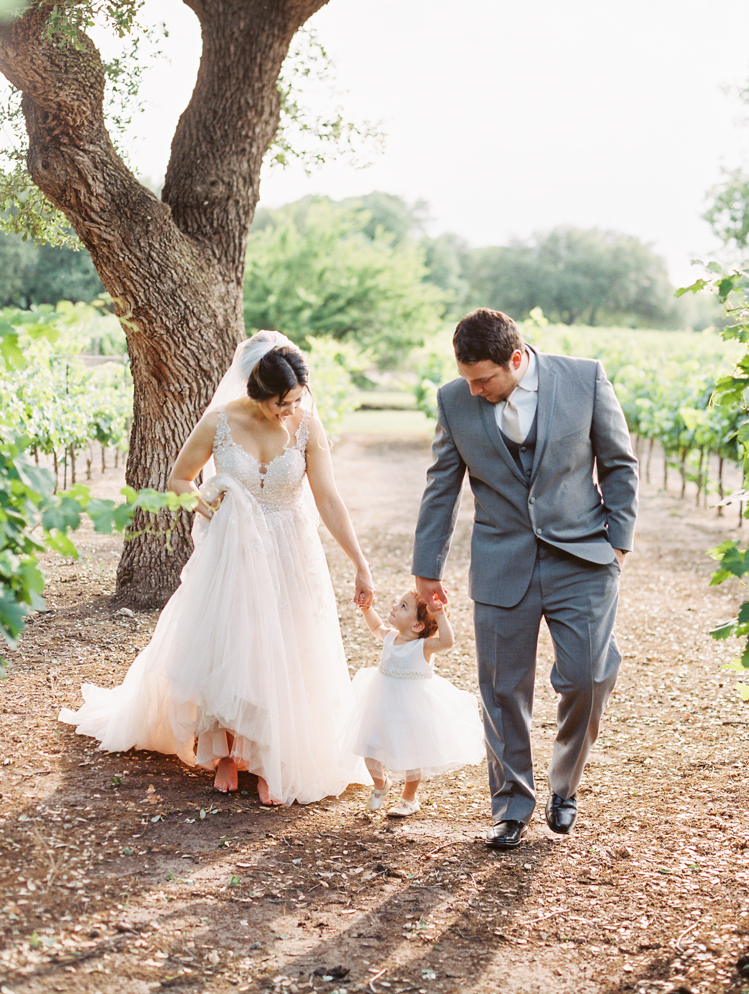 Elegant Spring Vineyard Wedding | Film Wedding Photographer | Austin Wedding Photographer | Bride and Groom Romantic Photos | Britni Dean Photography // britnidean.com