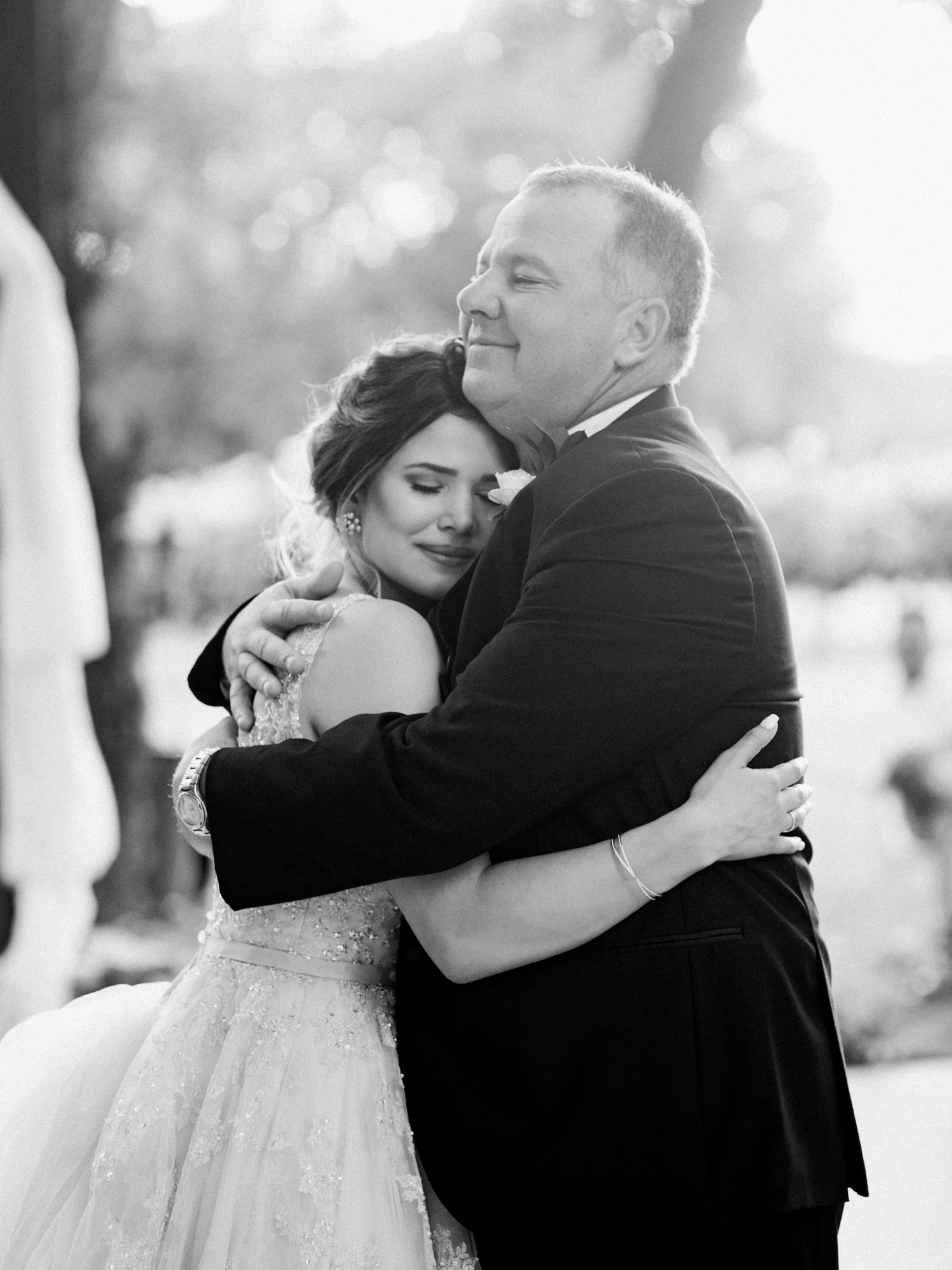 Elegant Spring Vineyard Wedding | Film Wedding Photographer | Austin Wedding Photographer | The Sweetest Father Daughter Wedding Dance | Britni Dean Photography // britnidean.com