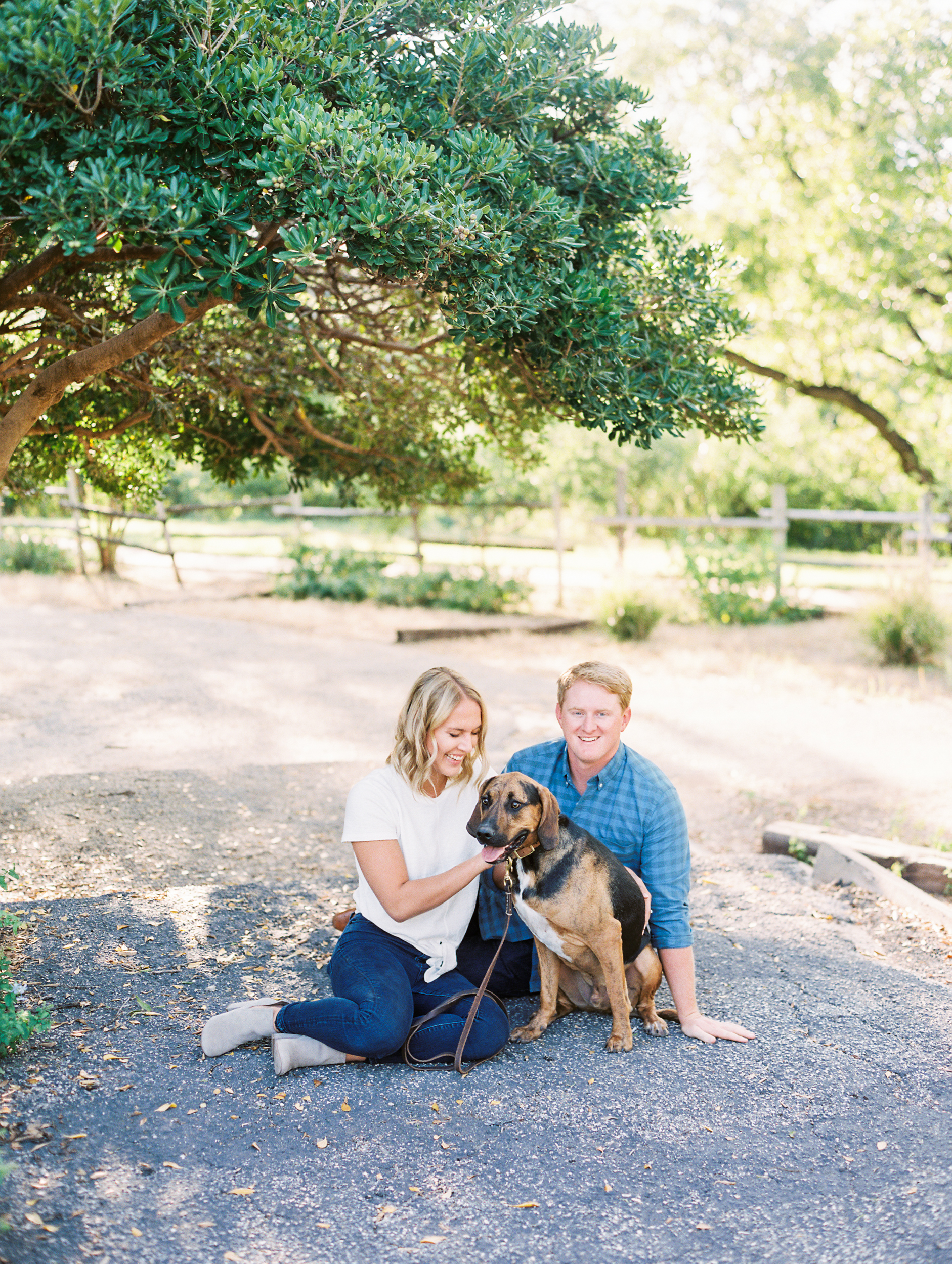 Tips For Including Pets In Your Session, Engagements with Dog, Austin Family Photographer, Austin Film Photographer, Britni Dean Photography
