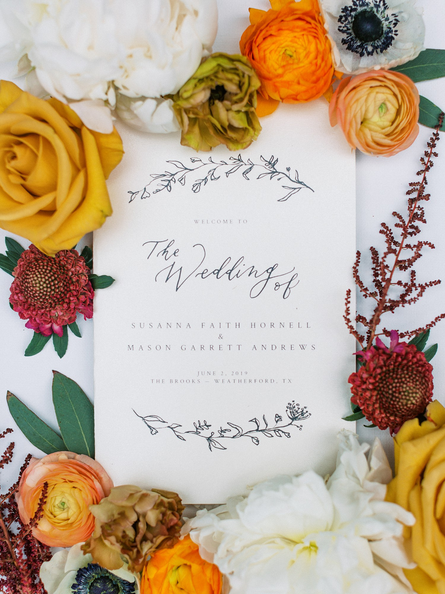 Summer Wedding Invitation Inspiration | | Summer Wedding Inspiration | Fort Worth Wedding Photographer | The Brooks at Weatherford