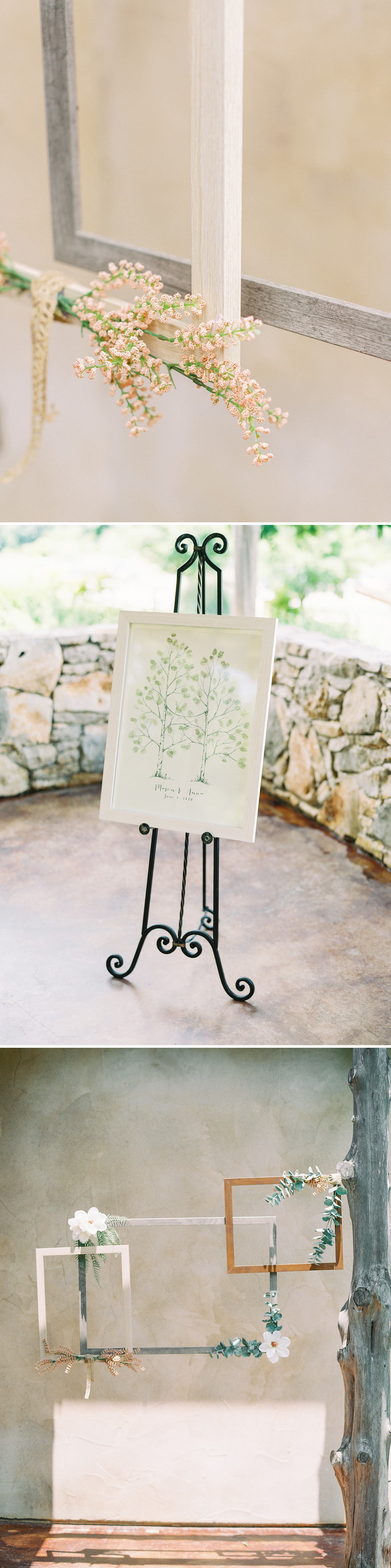 Summer Wedding Inspiration | Unique Guest Book Idea | Summer Wedding Inspiration | Fort Worth Wedding Photographer | The Brooks at Weatherford