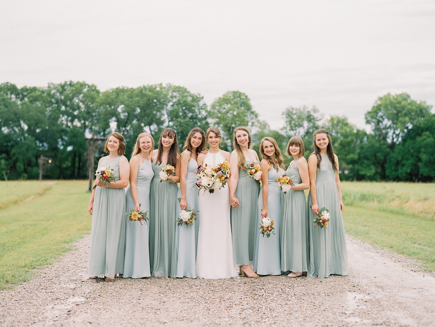 Summer Wedding Inspiration, Blue Bridesmaids Dresses | Wedding Gift | Something Old | | Summer Wedding Inspiration | Fort Worth Wedding Photographer | The Brooks at Weatherford