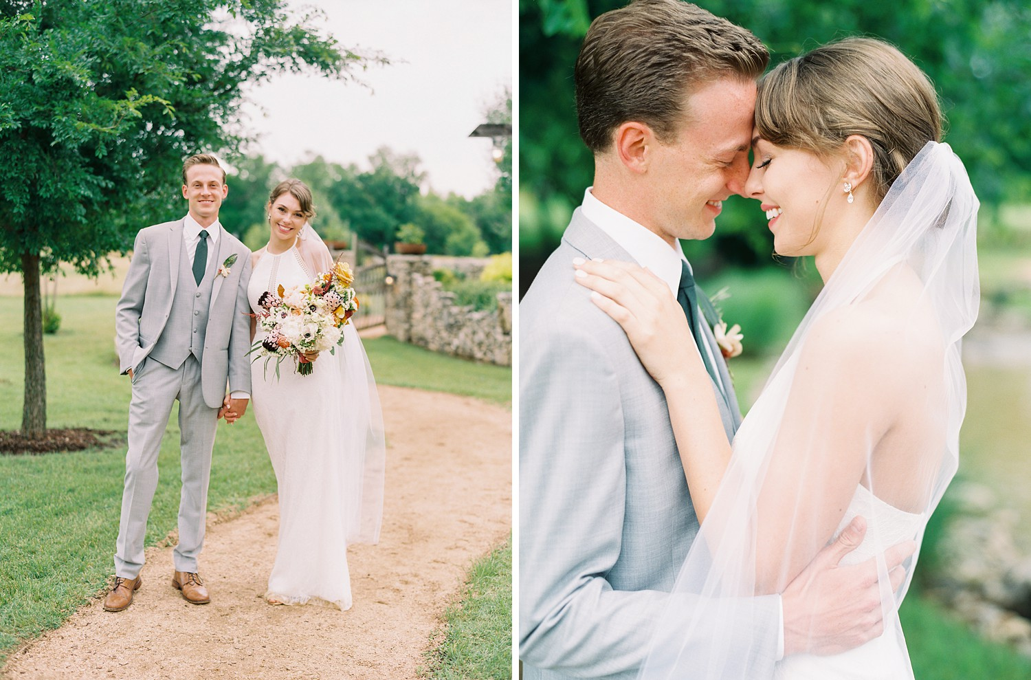 Bride & Groom Photo Inspiration | Romantic Summer Wedding Inspiration | Fort Worth Wedding Photographer | The Brooks at Weatherford