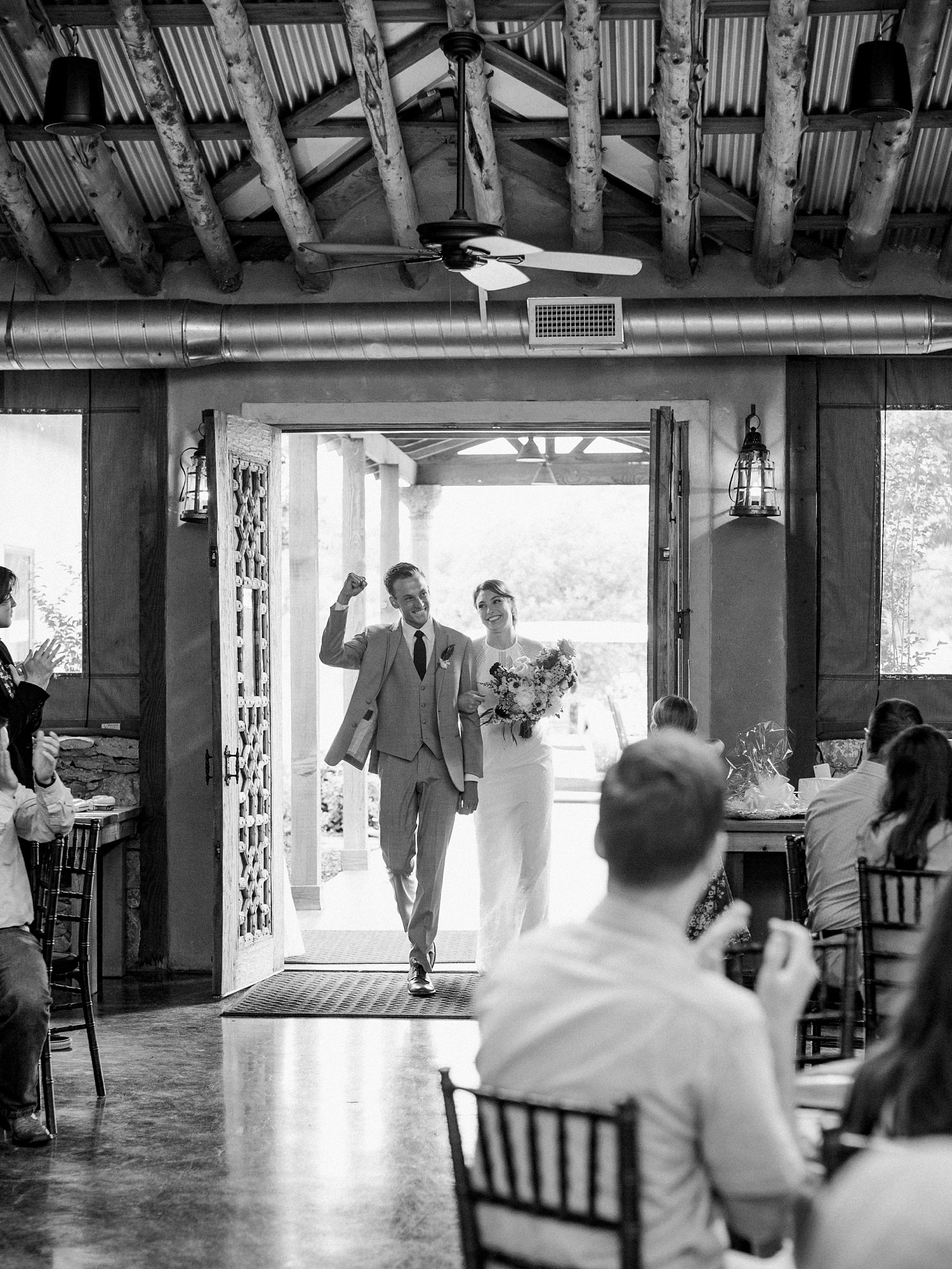 Rustic Reception Decor Ideas | Romantic Summer Wedding Inspiration | Fort Worth Wedding Photographer | The Brooks at Weatherford