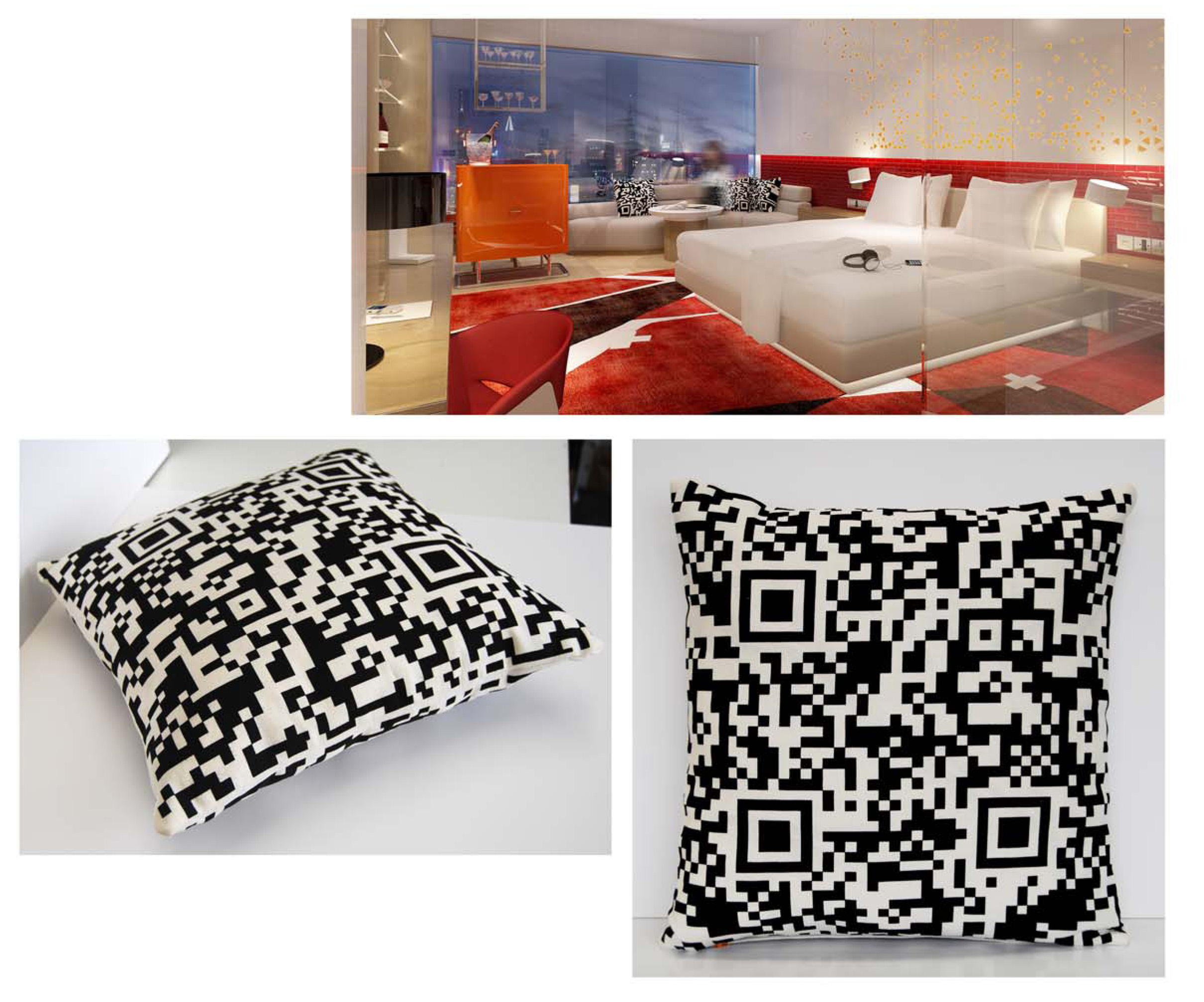 W Hotel Guestroom Scatter Cushion