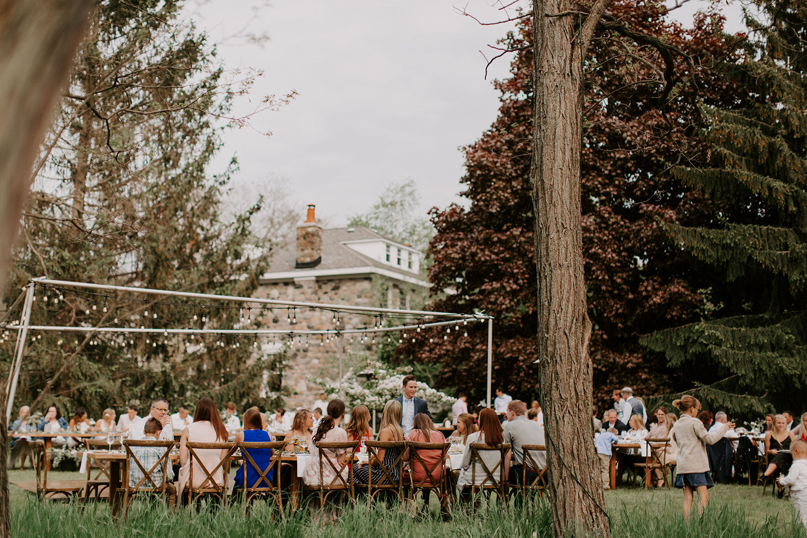 June in Bloom   Laura & Griffin of Indiana said I-Do on June 1, 2019 with 200 of their dear friends and family under twinkle lights and a gorgeous tangerine sunset. Our first and only tent-free wedding to date was a success as the rain held off other than a few sprinkles during the ceremony. This extremely stylish wedding is a treat to relive. Enjoy!