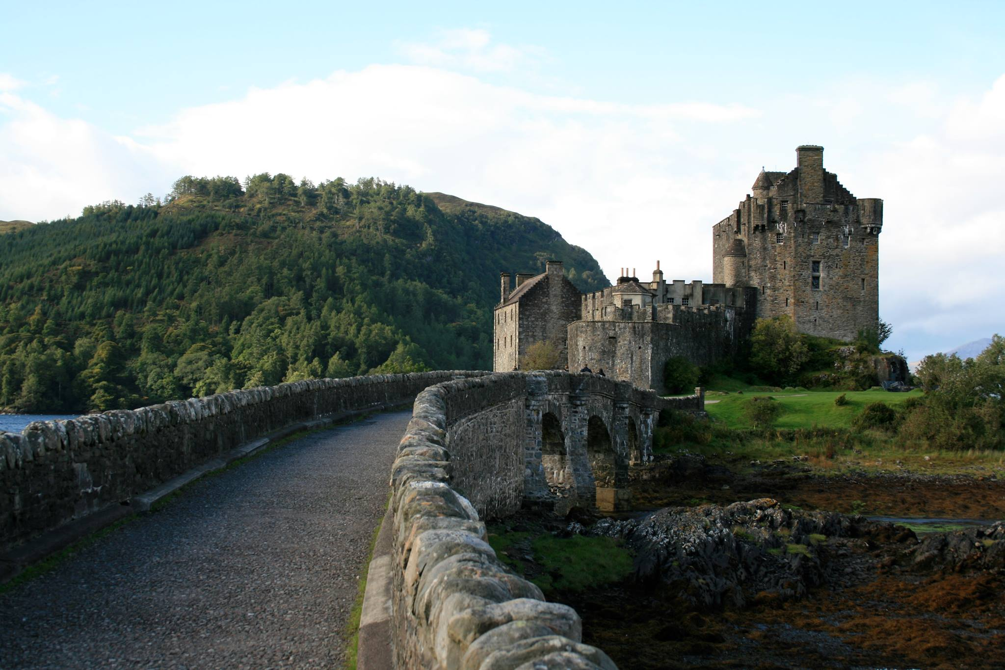 Eilean Donan Castle, Scottish Highlands. This was a beauty to visit! It is the seat of Clan MacKenzie (and Clan MacCoinneach from my novels).