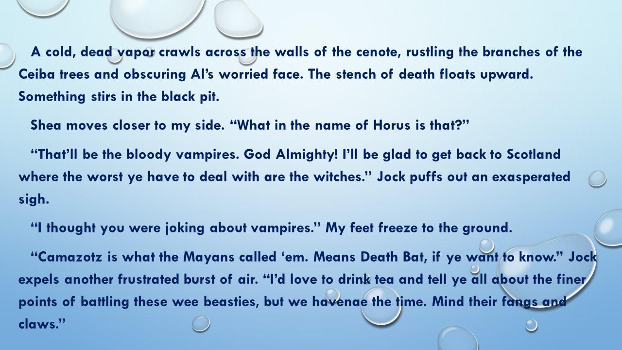 An excerpt from   Zoraida Grey and the Voodoo Queen