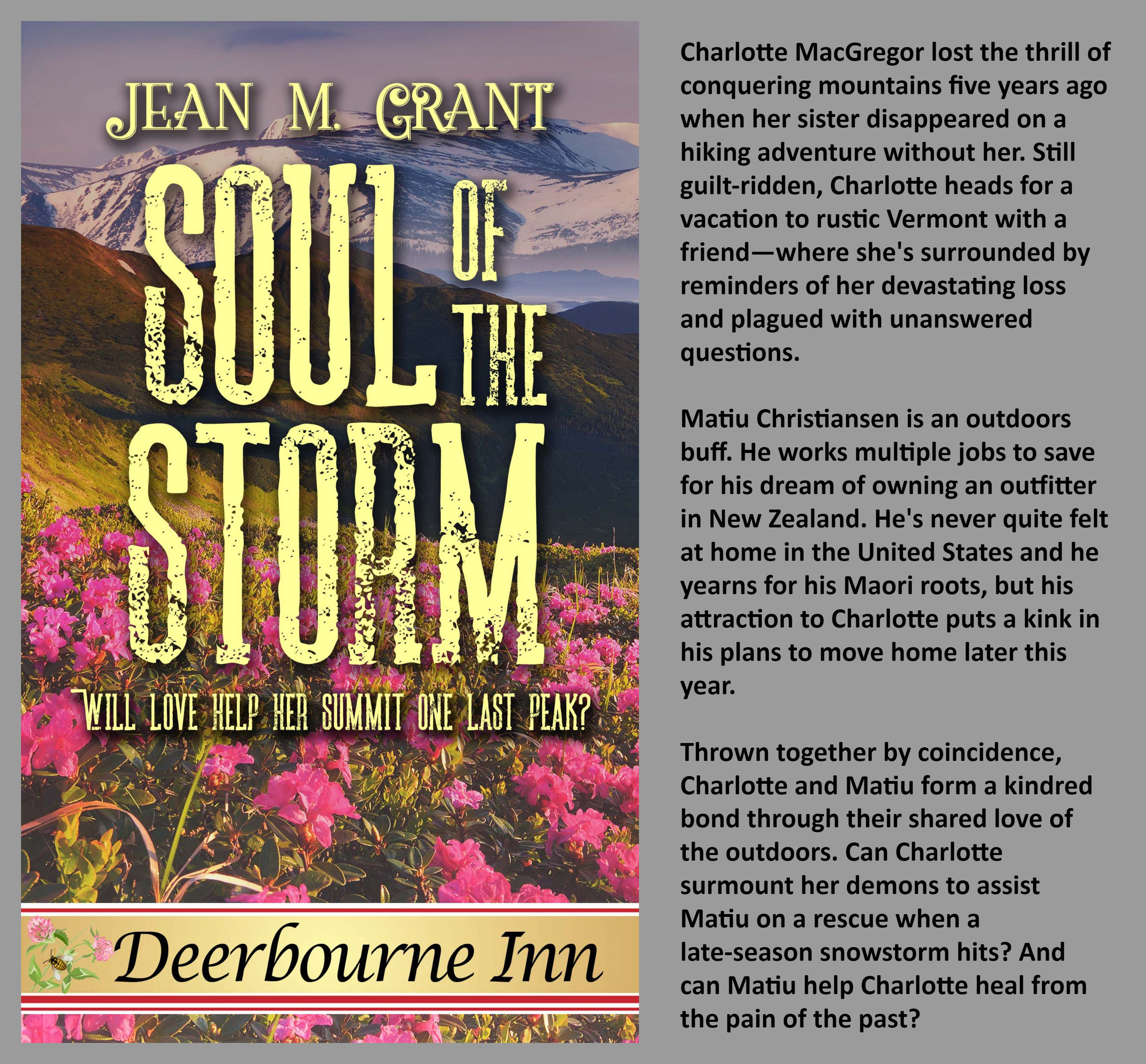An upcoming story in the  Deerbourne Inn Series with The Wild Rose Press . Release date TBD - early spring 2019! Check out the others already out. I've read them all!