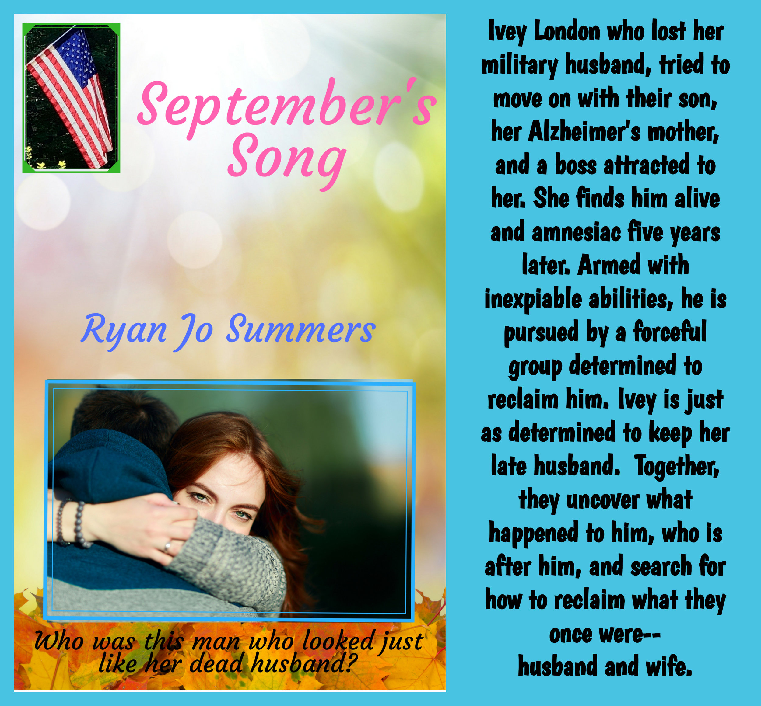 Find September's Song with these retailers:  Lulu ,  ITunes ,  Amazon ,  Barnes & Noble , and  Kobo